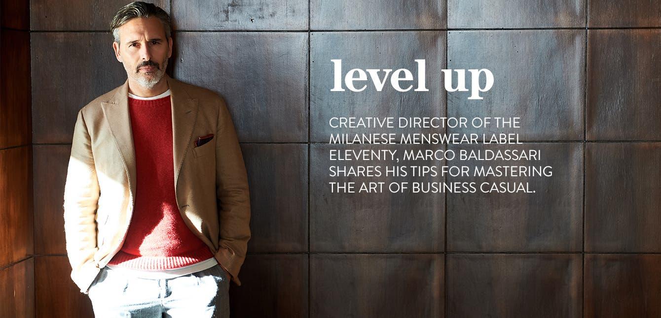Eleventy creative director Marco Baldassari