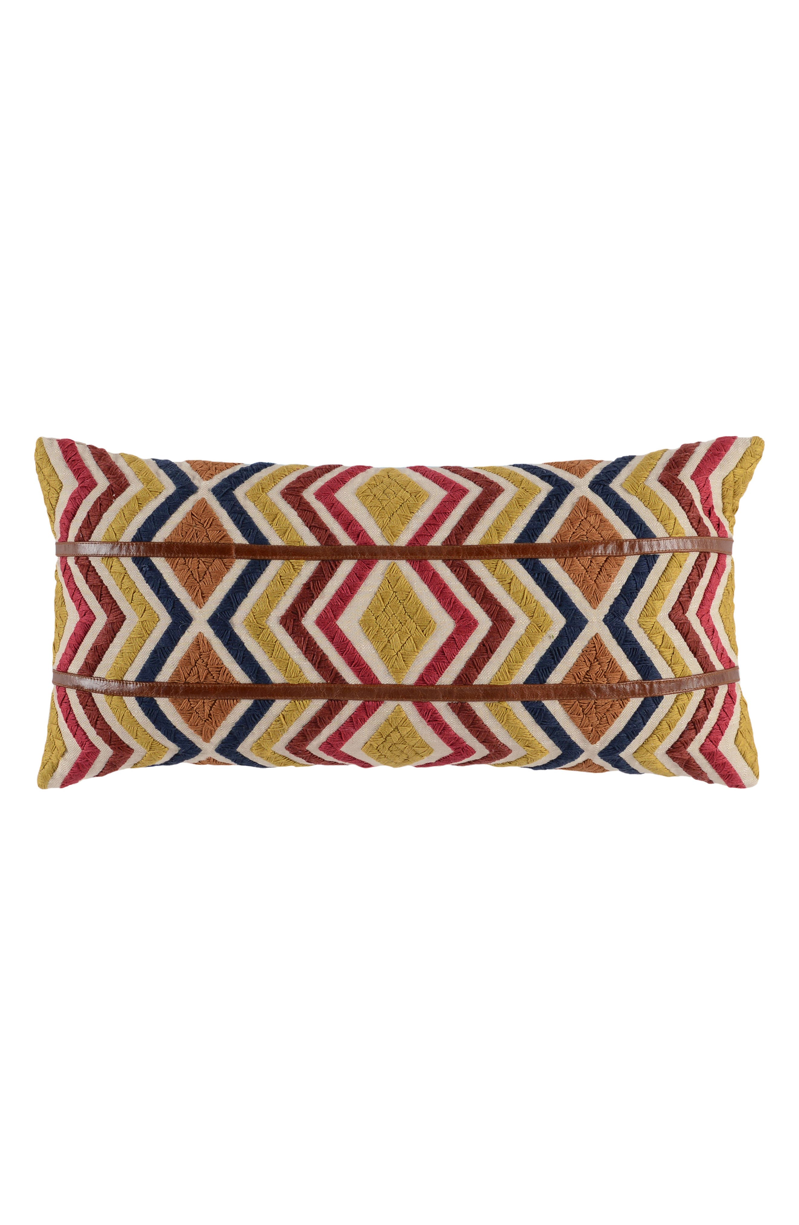 Alta Accent Pillow,                             Main thumbnail 1, color,                             YELLOW/ BROWN/ RED