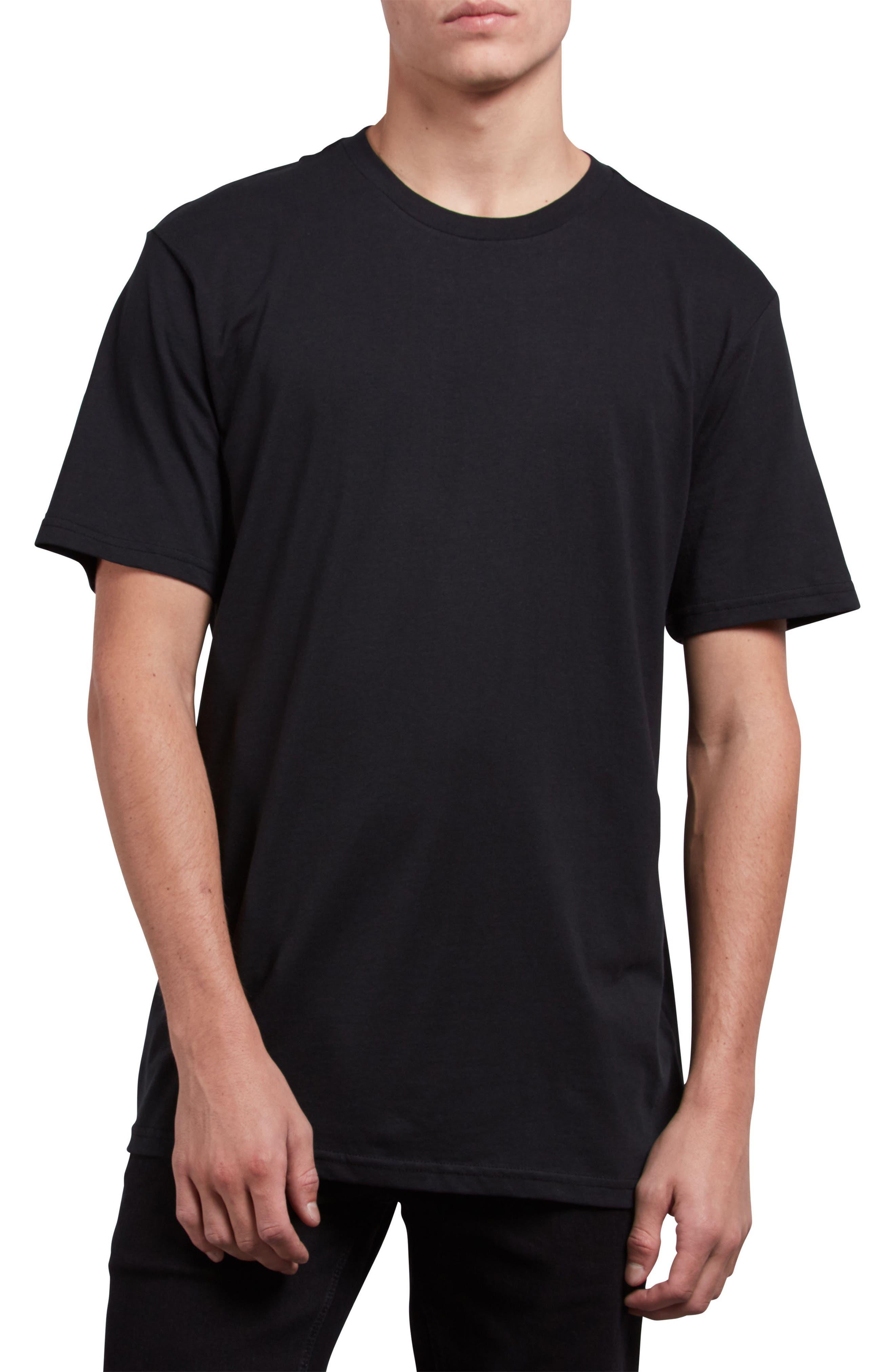 Premium Basic T-Shirt,                             Main thumbnail 1, color,                             BLACK