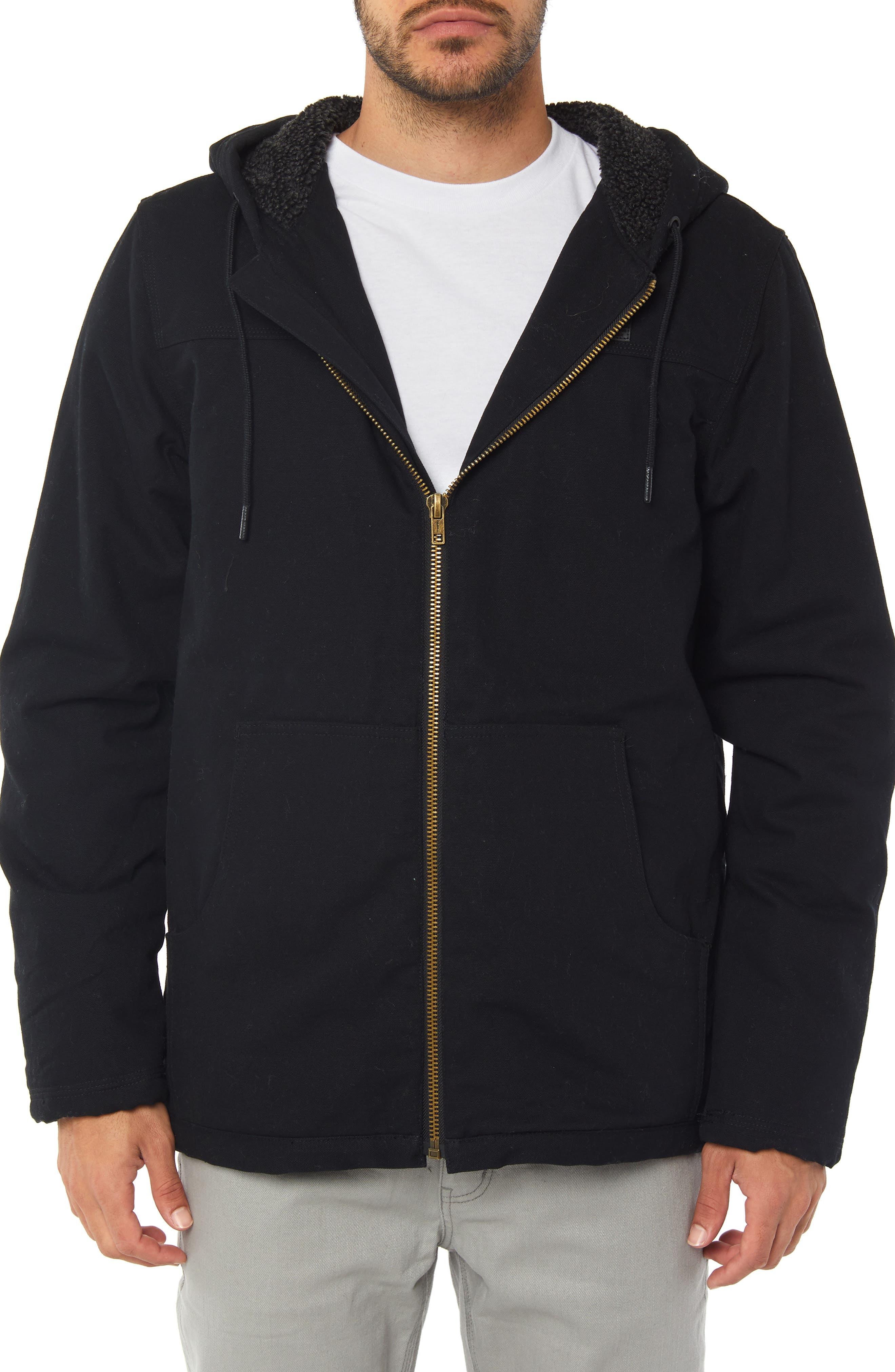 Detroit Jacket,                         Main,                         color, BLACK