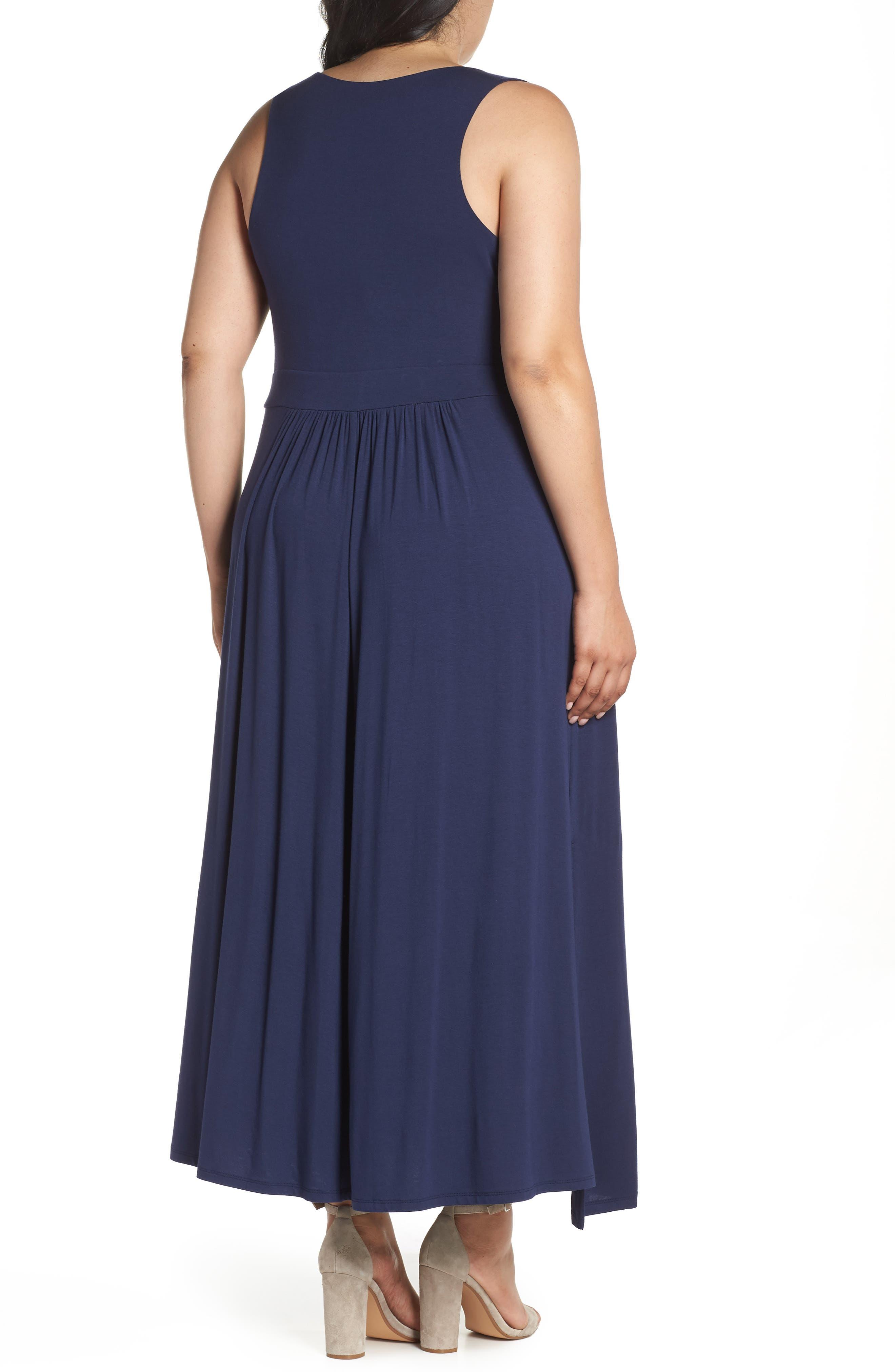 Knit Maxi Dress,                             Alternate thumbnail 8, color,