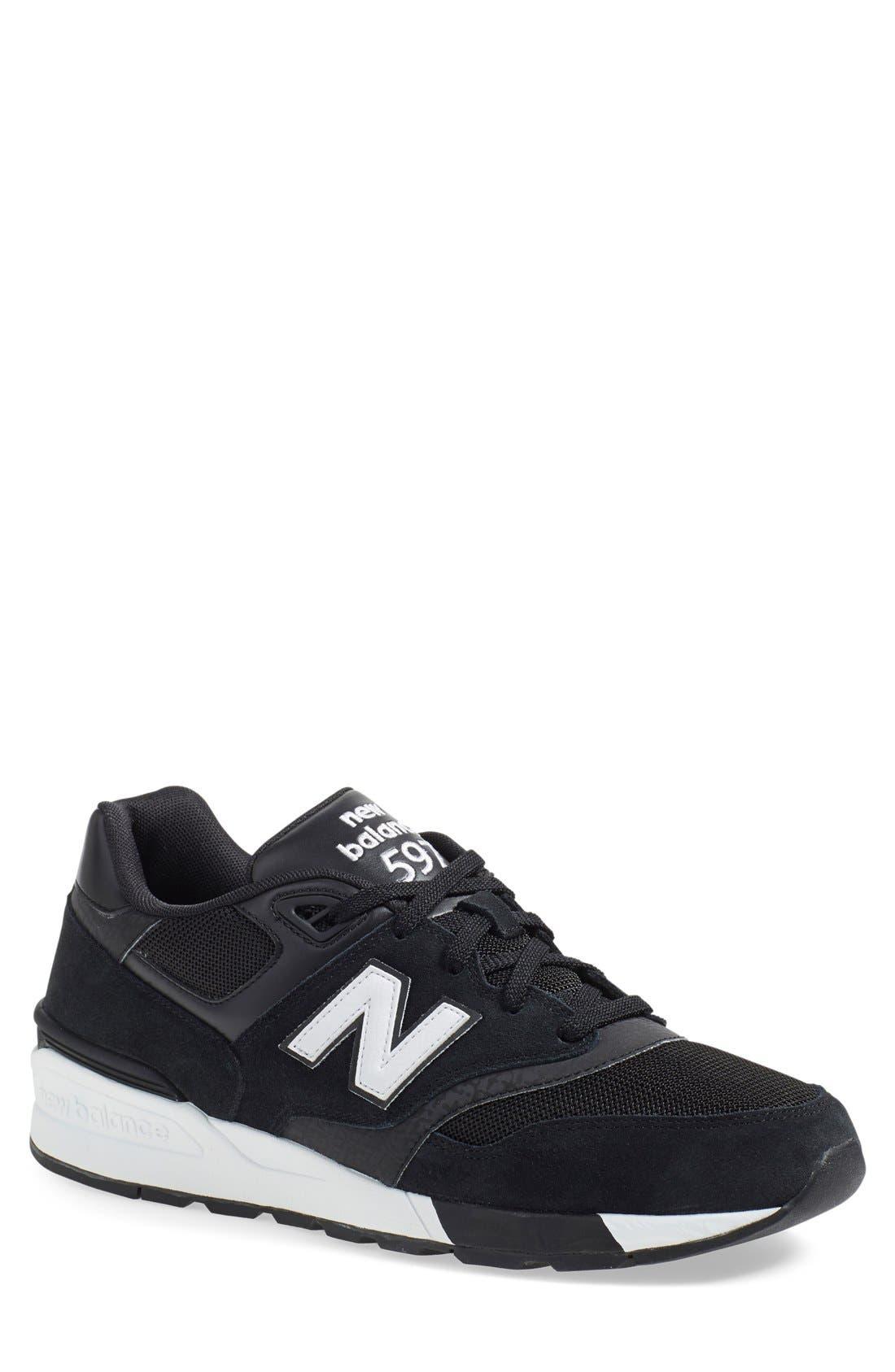 '597' Sneaker, Main, color, 001