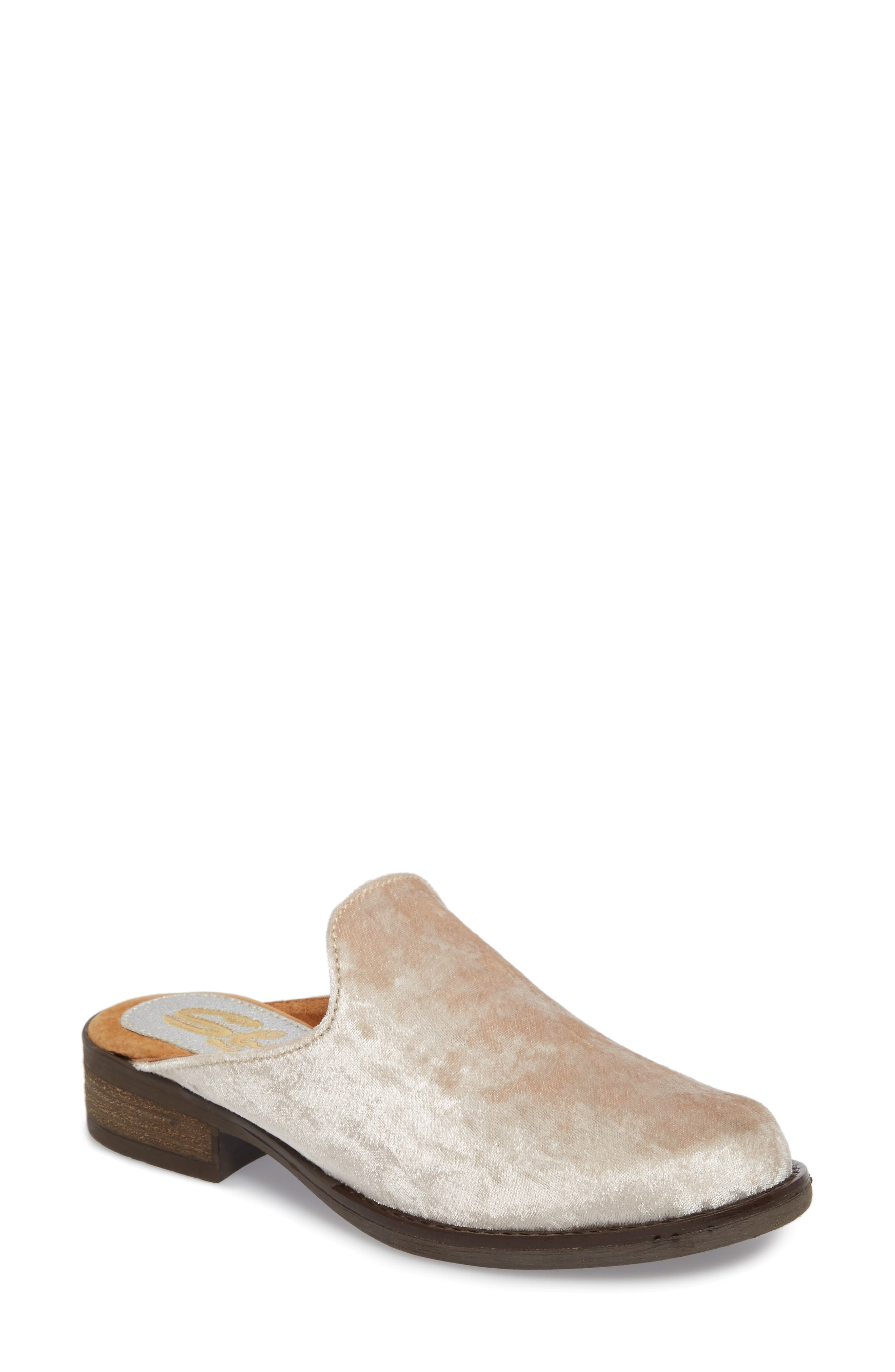 Citrine Loafer Mule,                             Main thumbnail 1, color,                             ICE