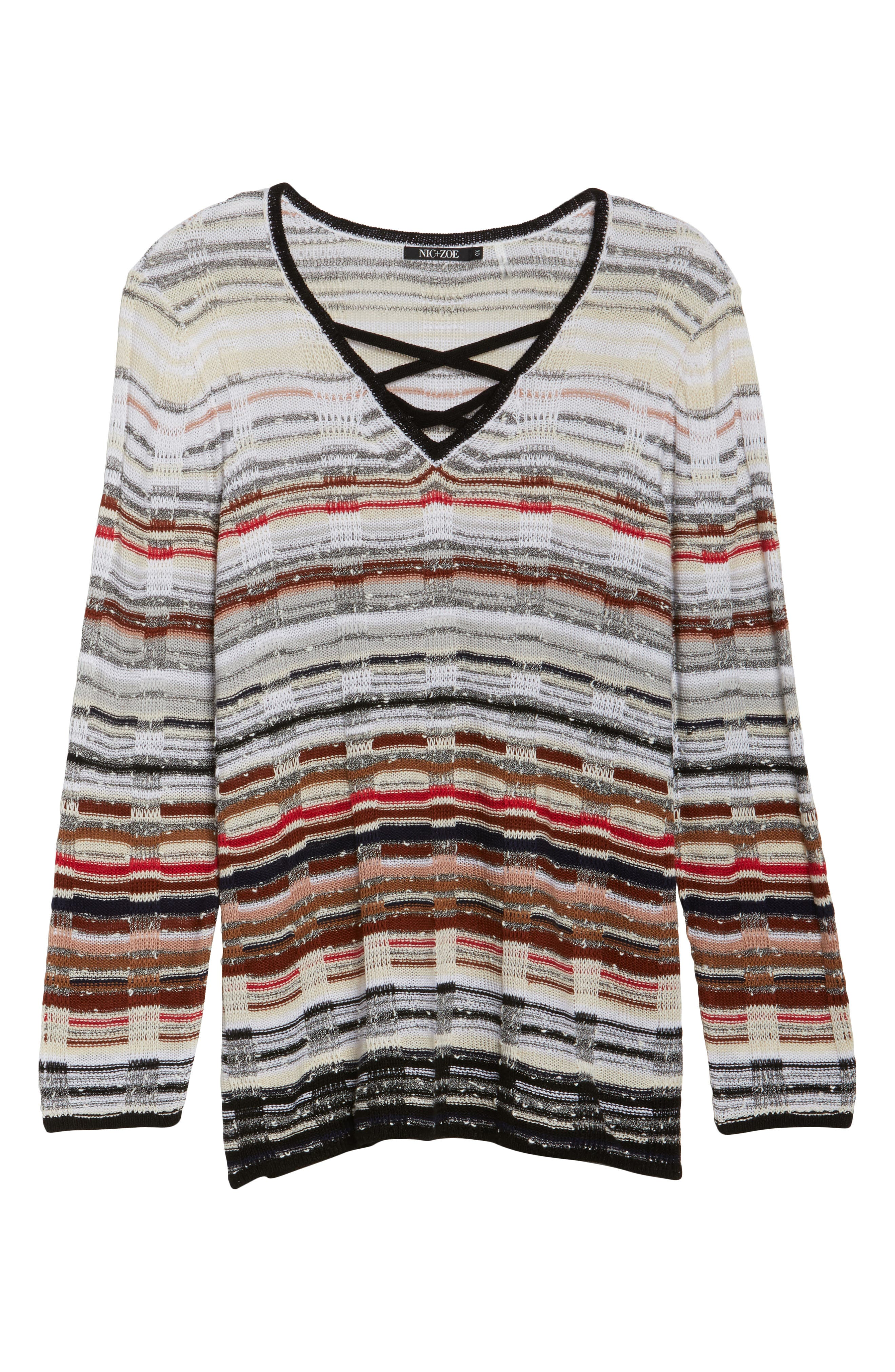 Red Hills Sweater,                             Alternate thumbnail 6, color,