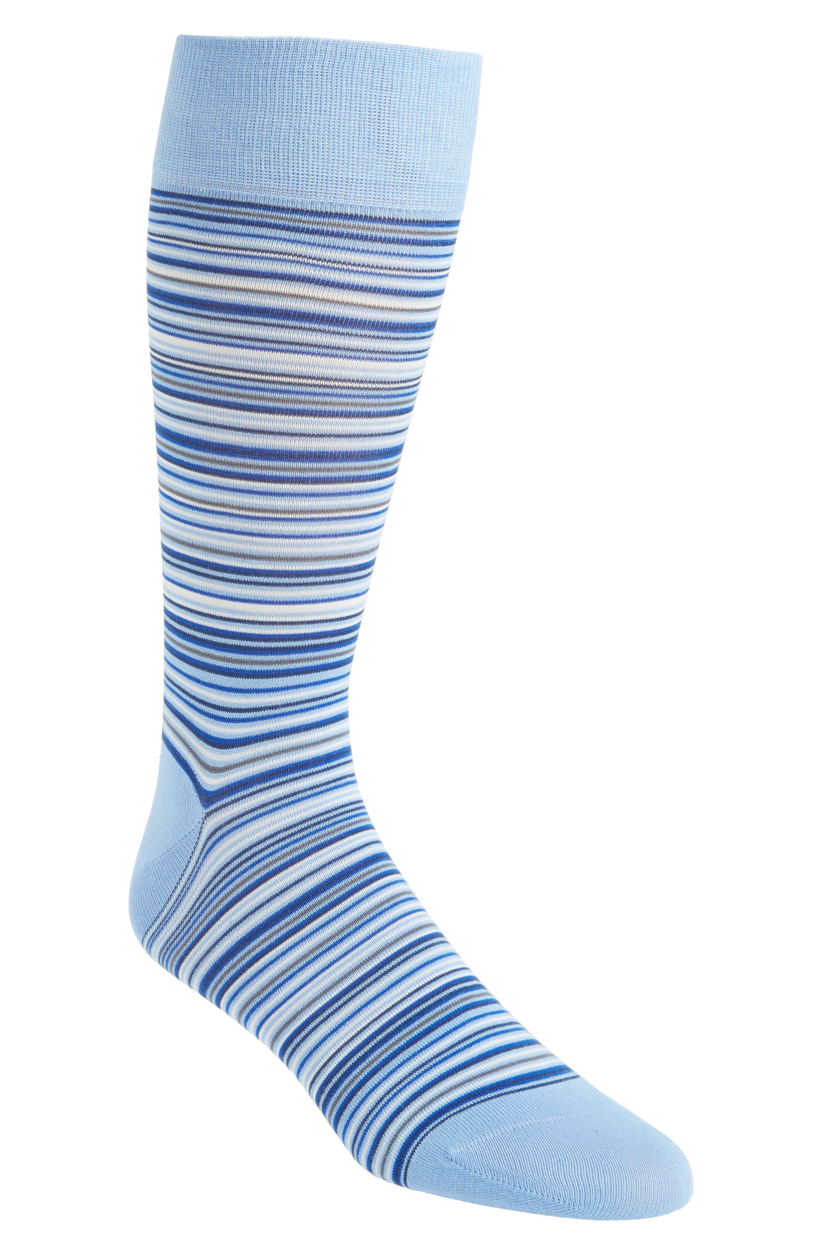 Multistripe Crew Socks,                             Main thumbnail 7, color,
