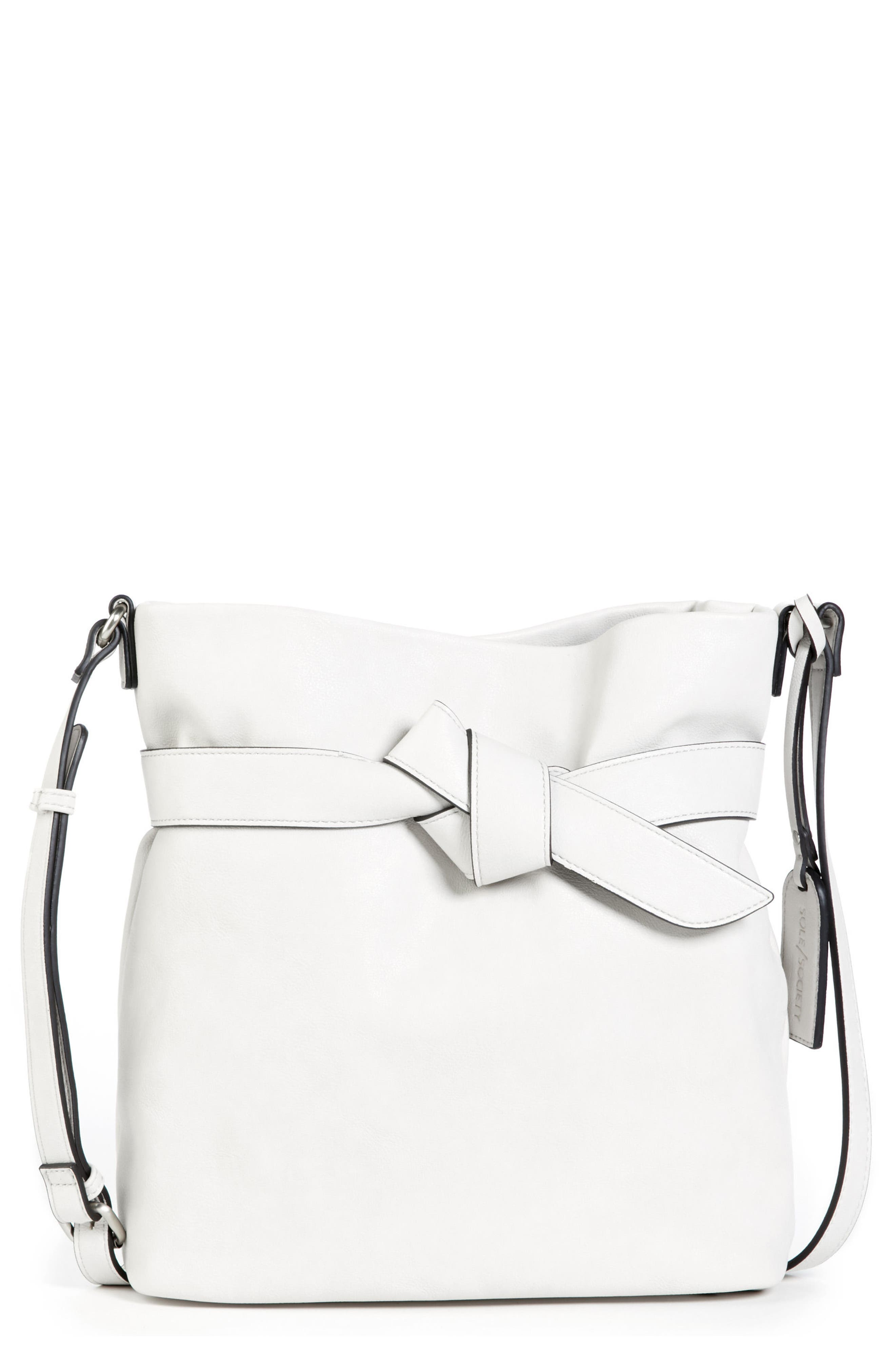 Karon Faux Leather Shoulder Bag,                             Main thumbnail 1, color,                             104