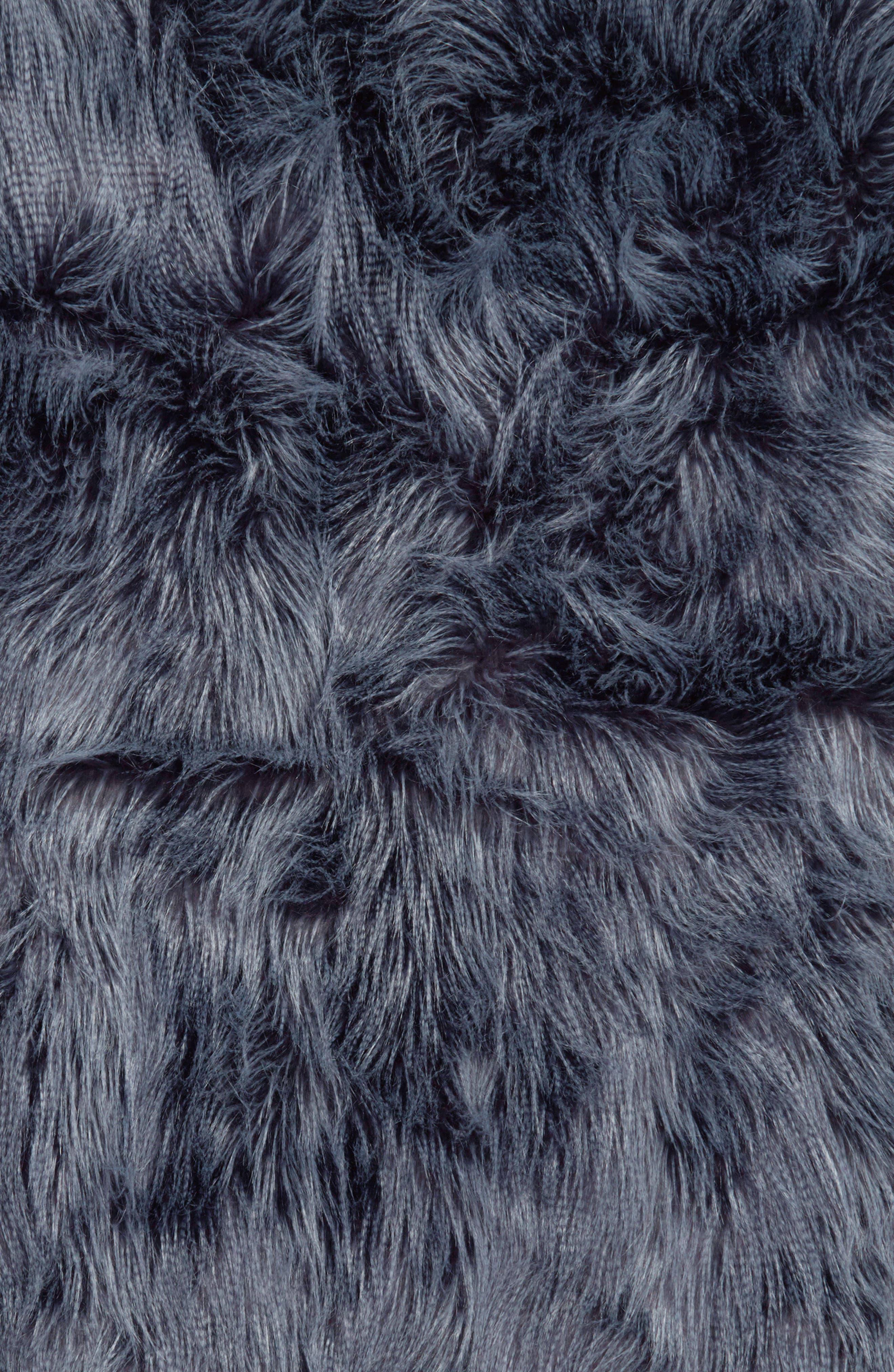 Fauna Faux Fur Throw Blanket,                             Alternate thumbnail 2, color,                             410