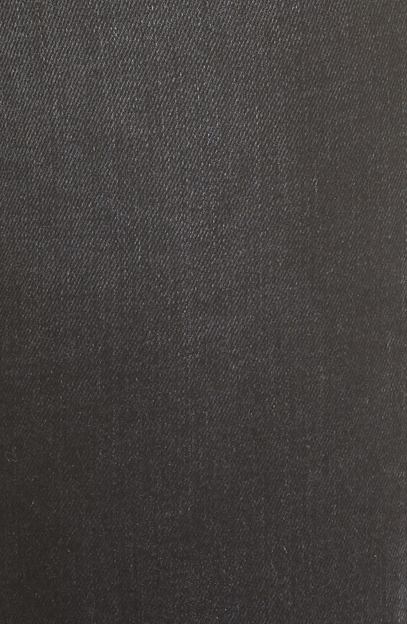 3X1 NYC,                             Bijou Chain Stirrup Ankle Skinny Jeans,                             Alternate thumbnail 6, color,                             004