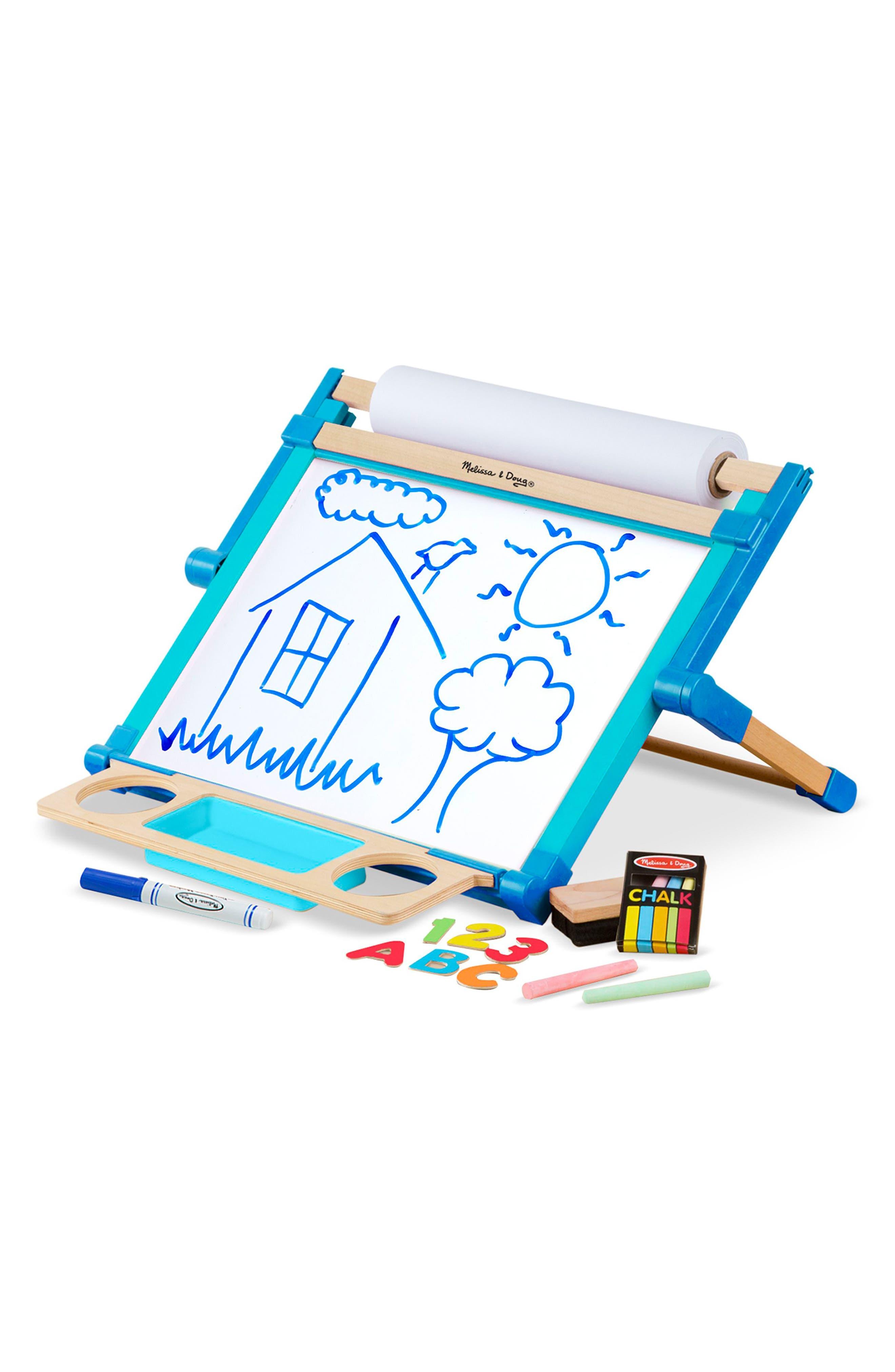 Tabletop Art Easel,                         Main,                         color, BLUE