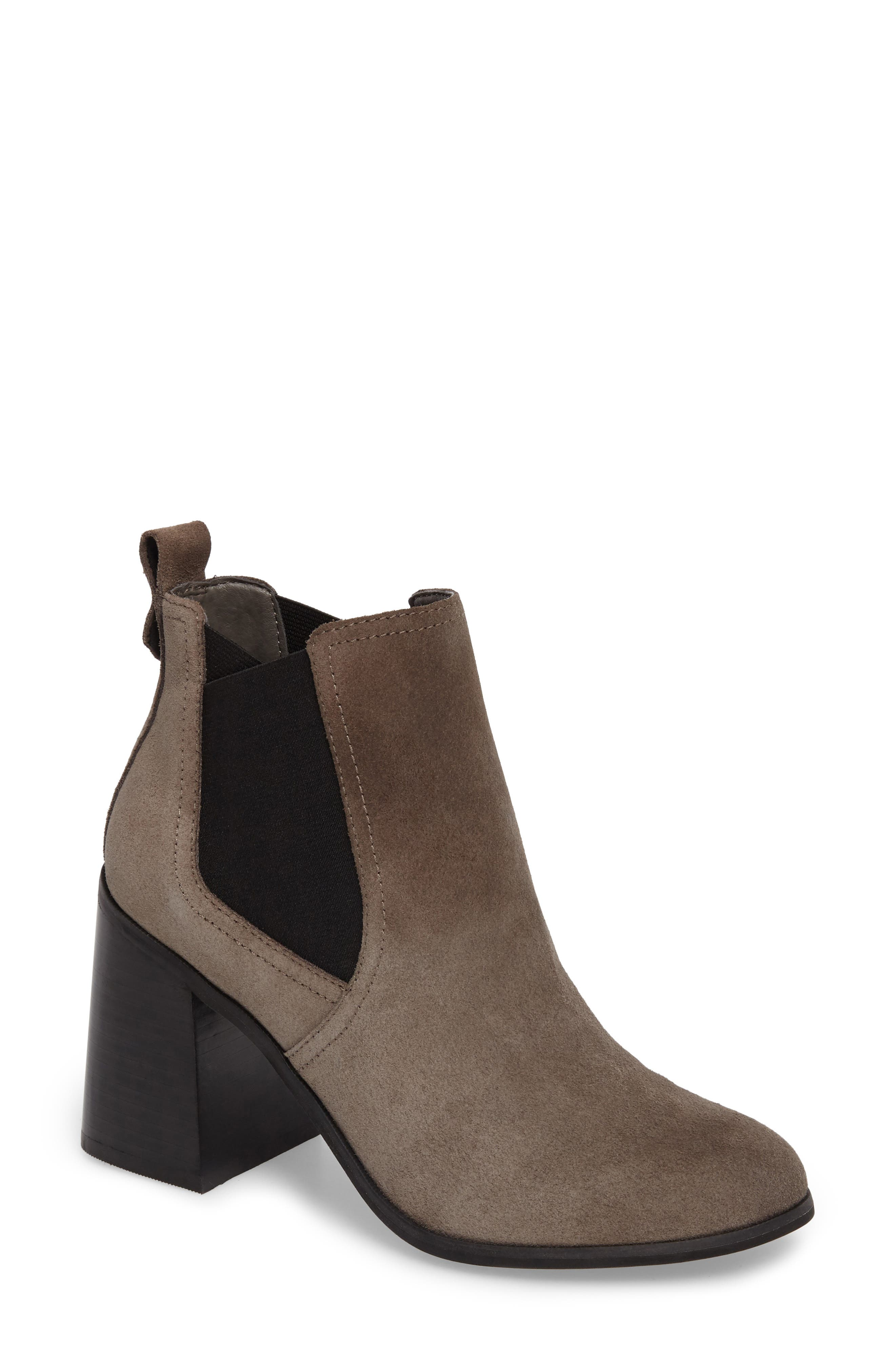 Quinn Flared Heel Chelsea Bootie,                             Main thumbnail 3, color,