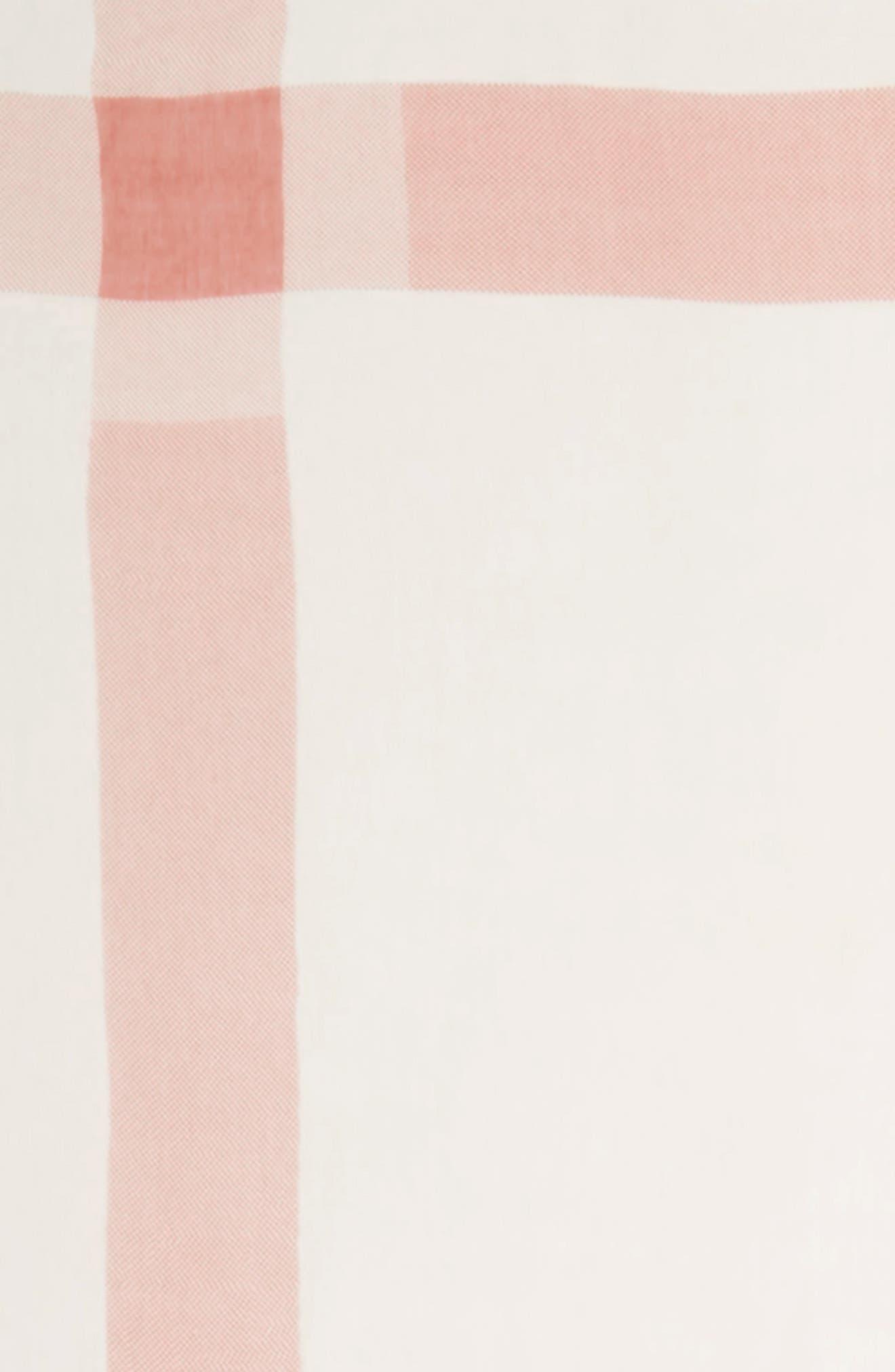 Plaid Square Scarf,                             Alternate thumbnail 6, color,