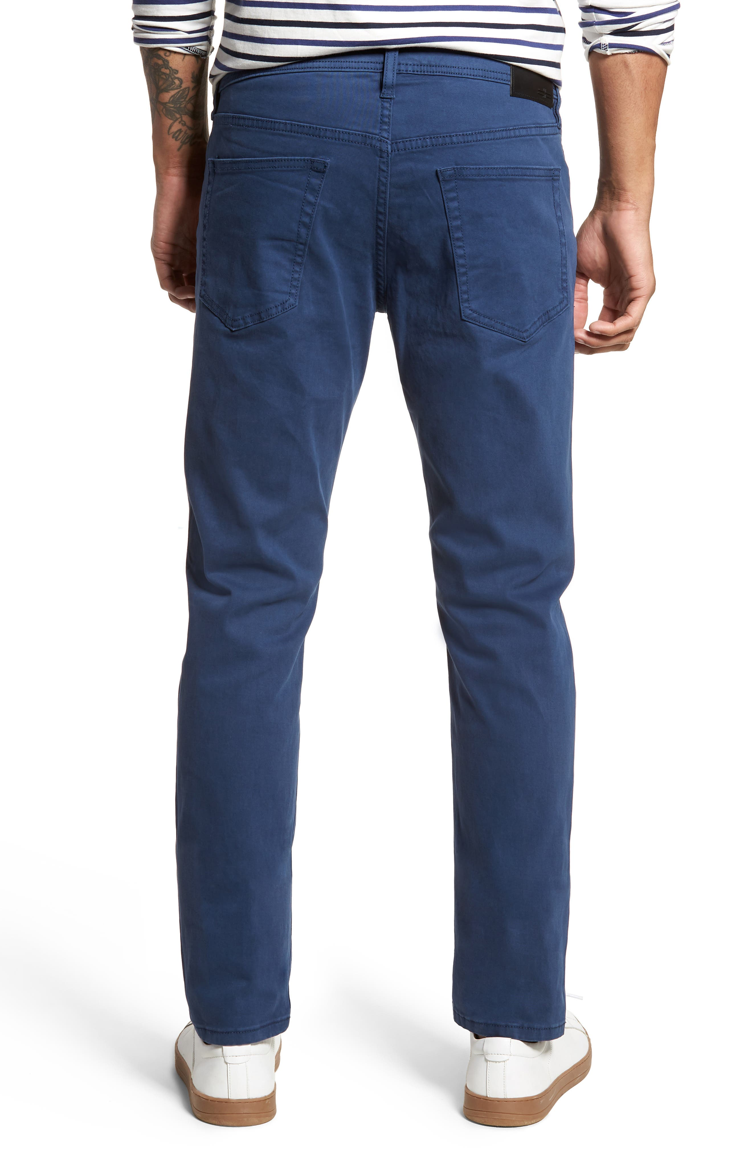 Jeans Co. Kingston Slim Straight Leg Jeans,                             Alternate thumbnail 2, color,                             BLUE TWILIGHT