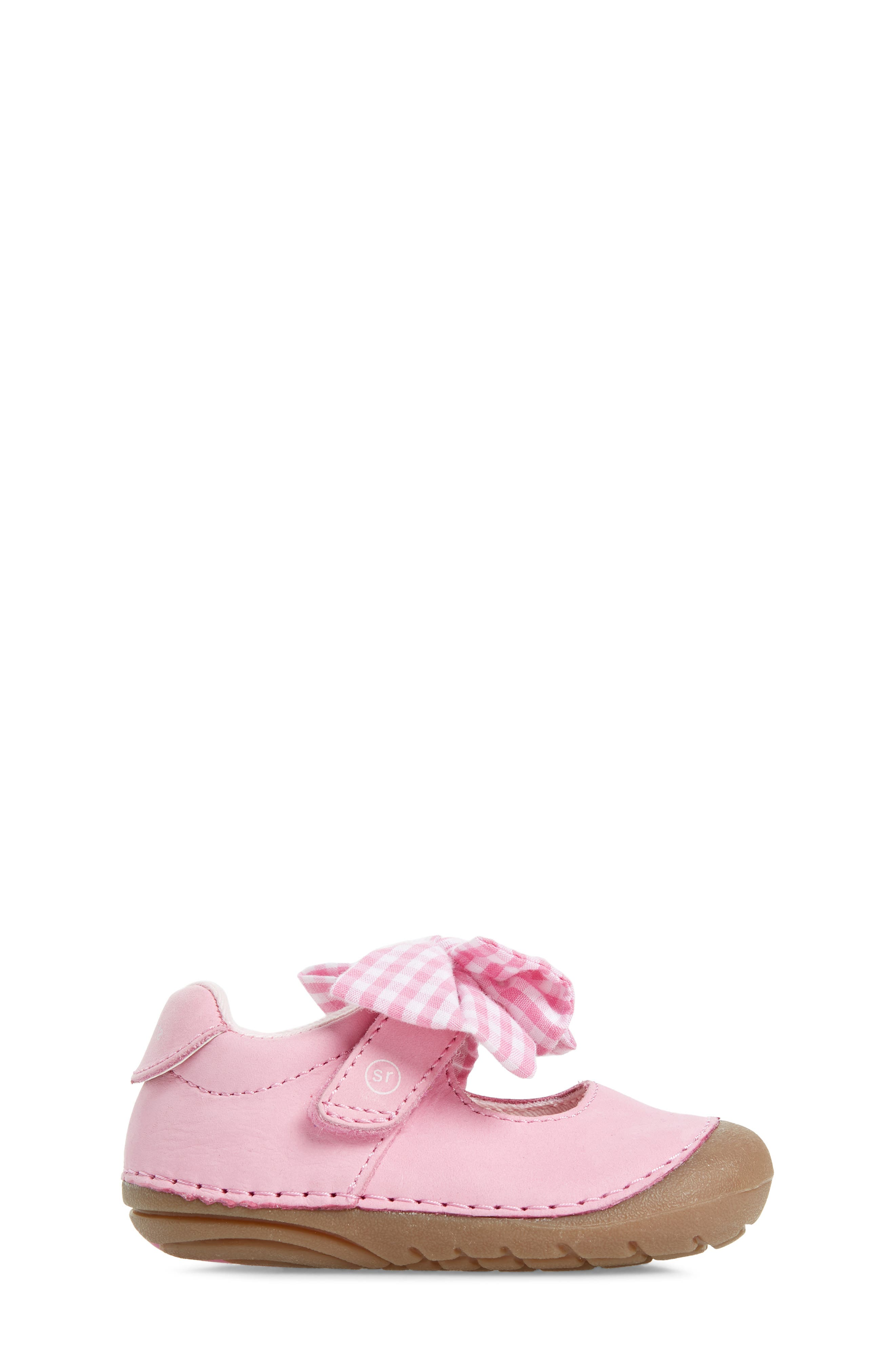 Soft Motion<sup>™</sup> Esme Mary Jane,                             Alternate thumbnail 3, color,                             PINK GINGHAM