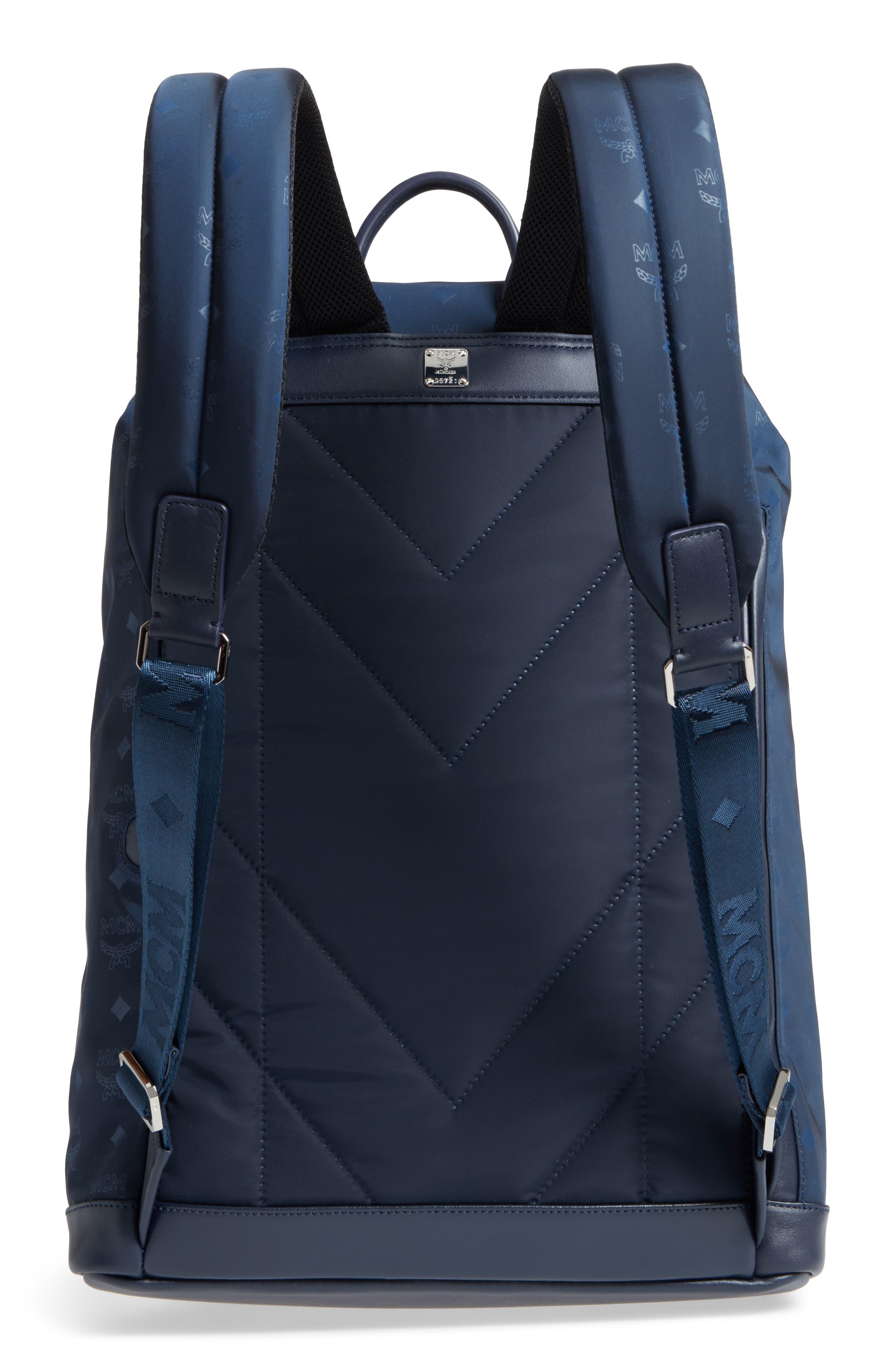 Dieter Backpack,                             Alternate thumbnail 3, color,                             NAVY BLUE