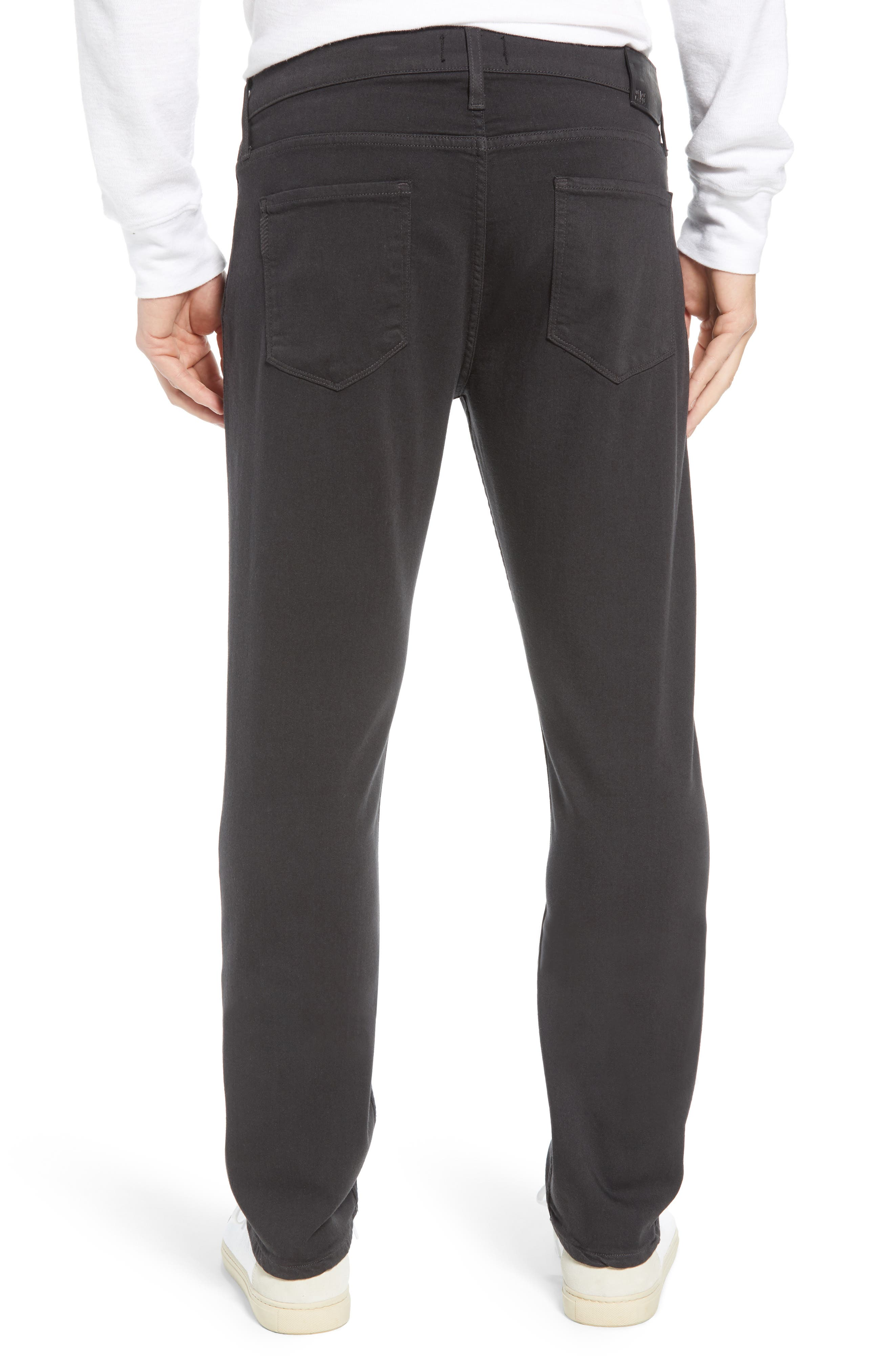 Transcend - Normandie Straight Leg Jeans,                             Alternate thumbnail 2, color,                             MIDNIGHT GREY