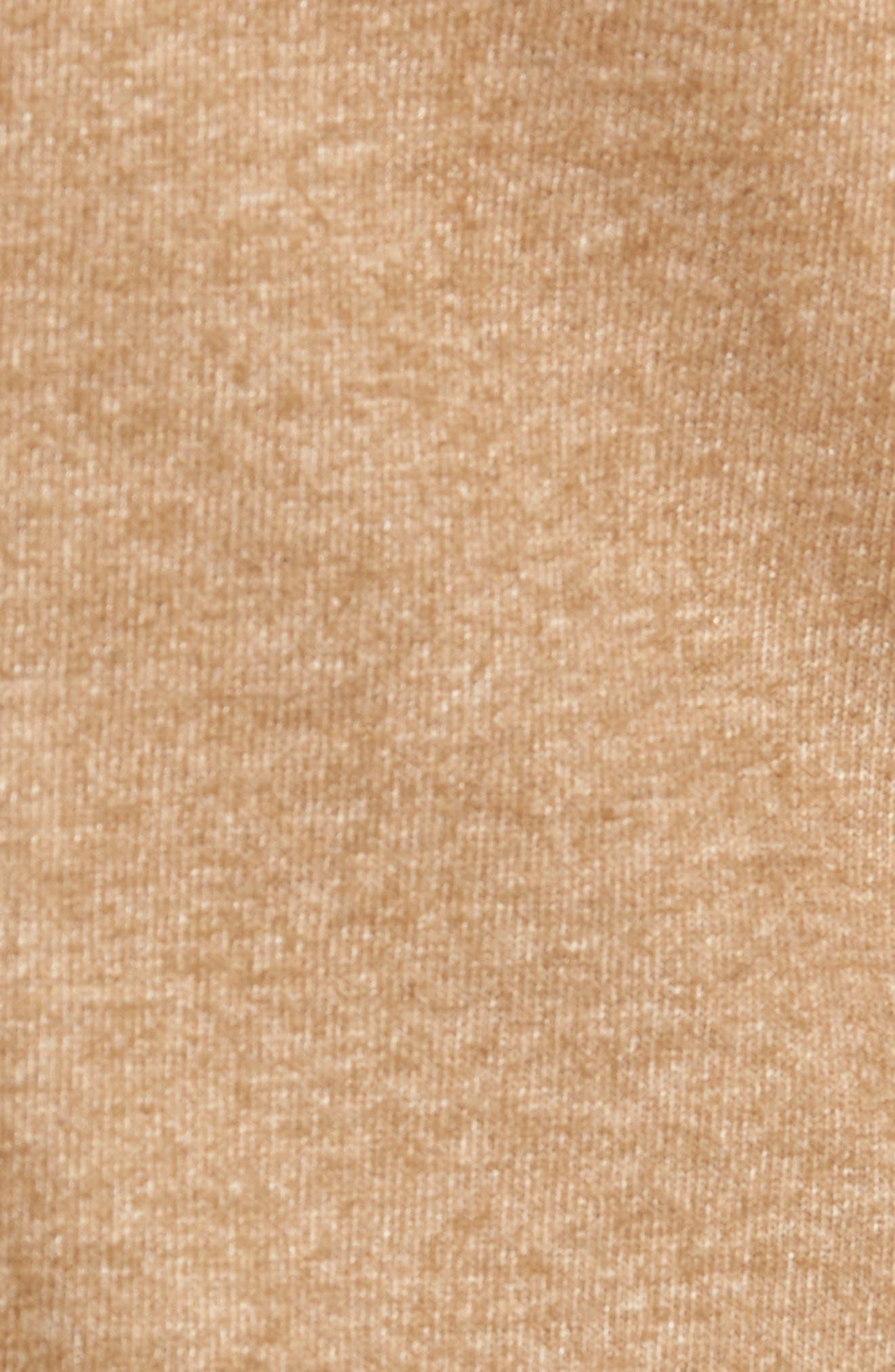 Regular Fit Knit Wool Blend Sport Coat,                             Alternate thumbnail 6, color,                             TAN