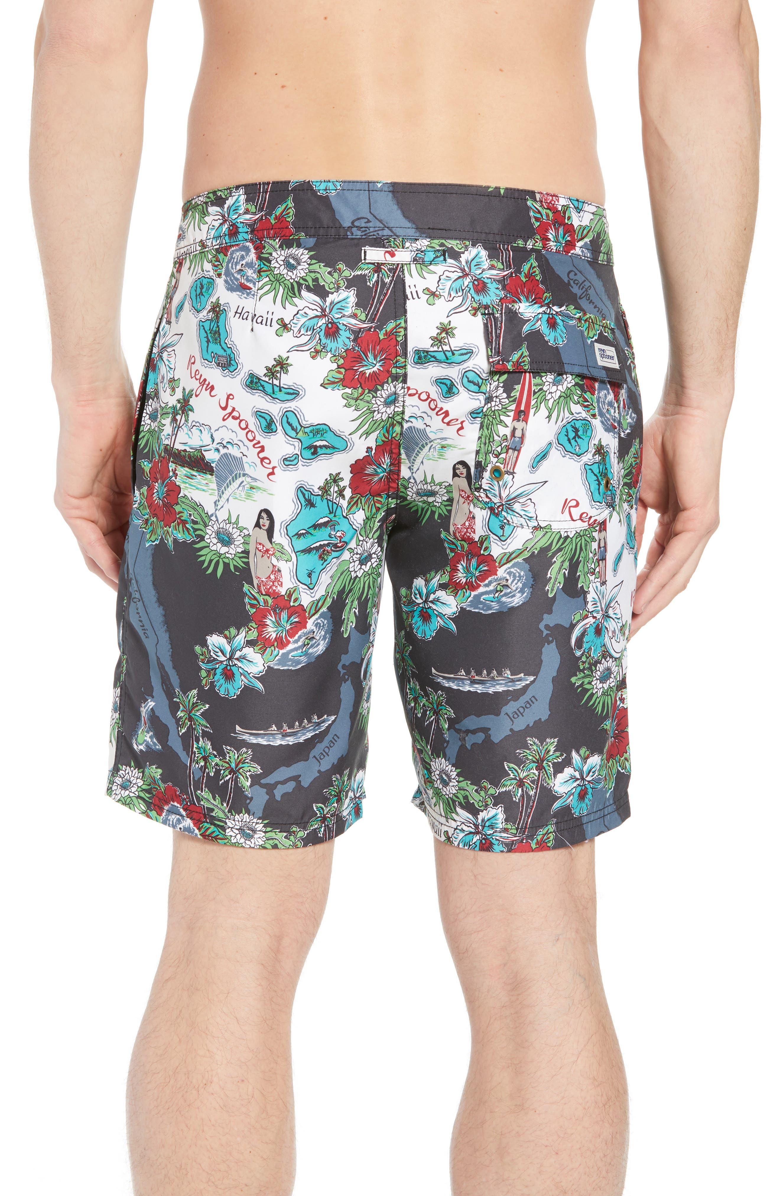Status Oceanic Regular Fit Board Shorts,                             Alternate thumbnail 3, color,