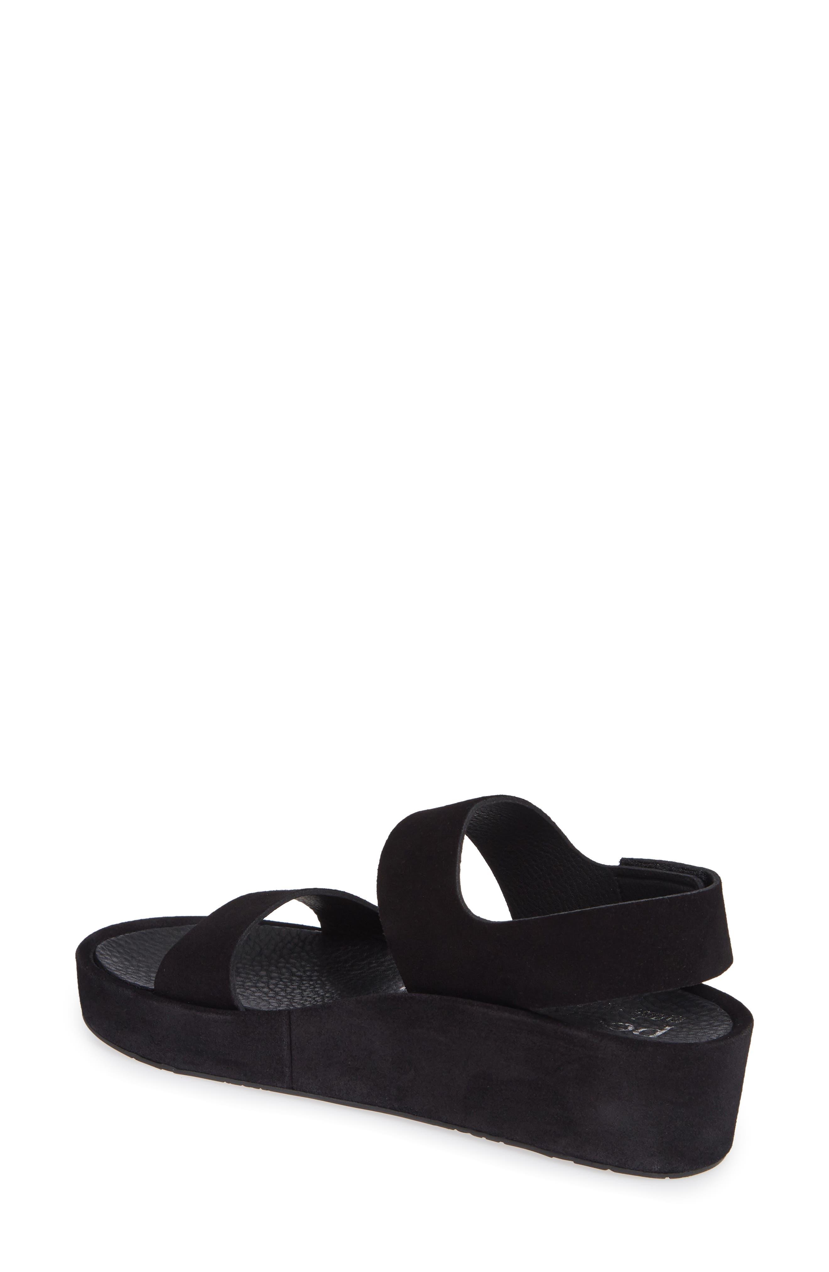 Lacey Footbed Sandal,                             Alternate thumbnail 2, color,                             BLACK CASTORO
