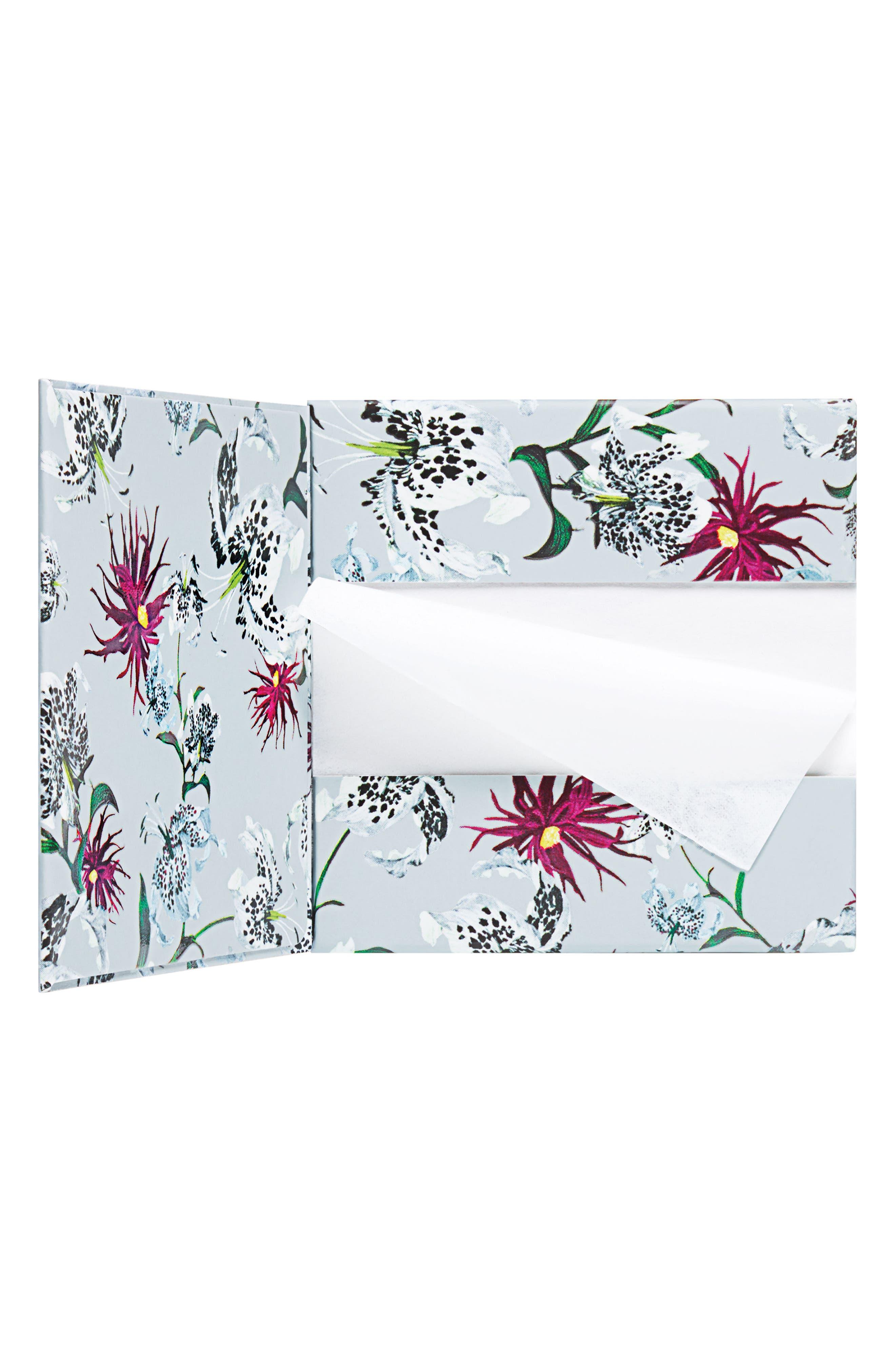 x Erdem Strange Flowers Mattifying Blotting Papers,                             Main thumbnail 1, color,                             000