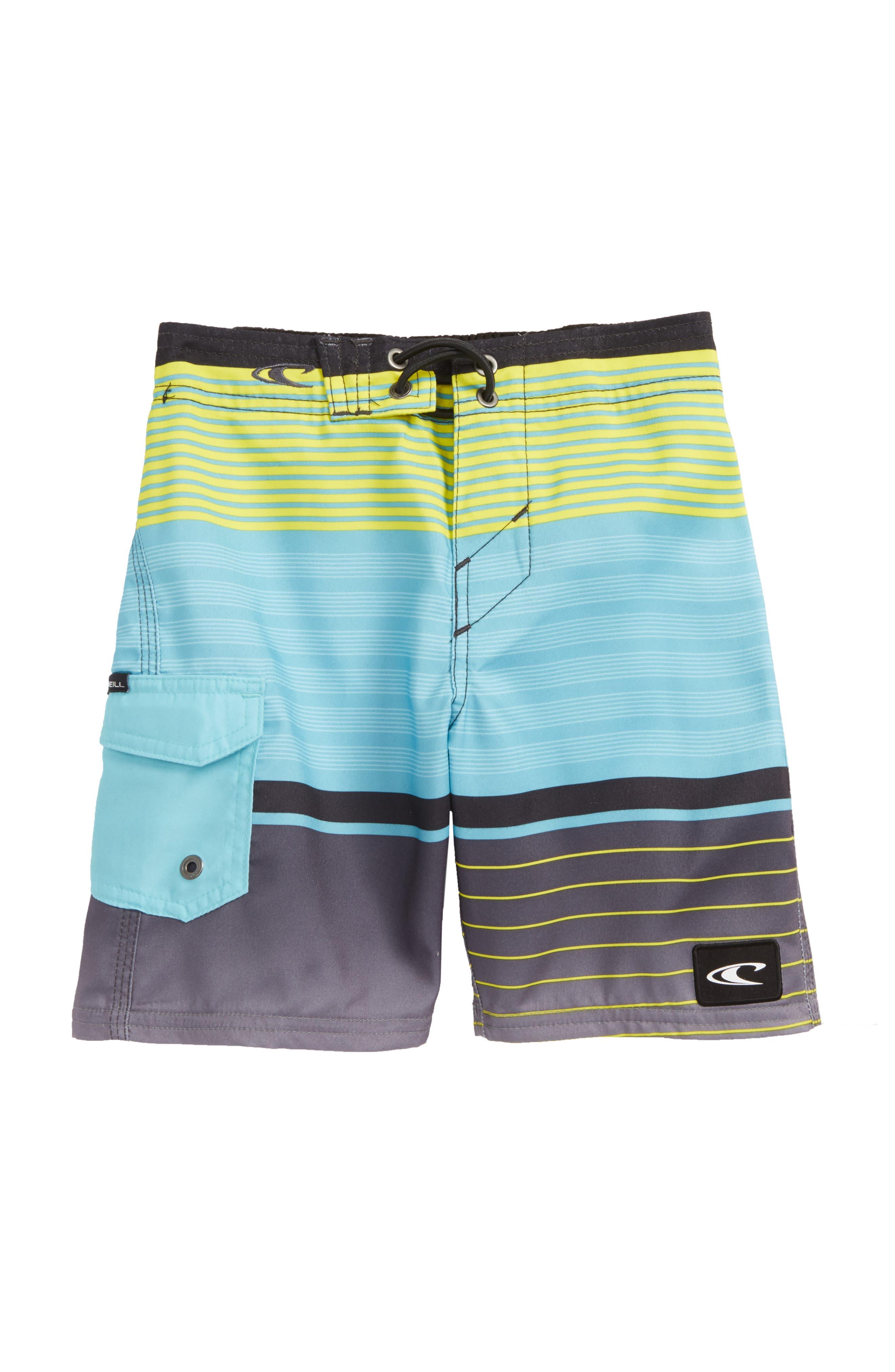 Lennox Stripe Board Shorts,                             Main thumbnail 1, color,                             492