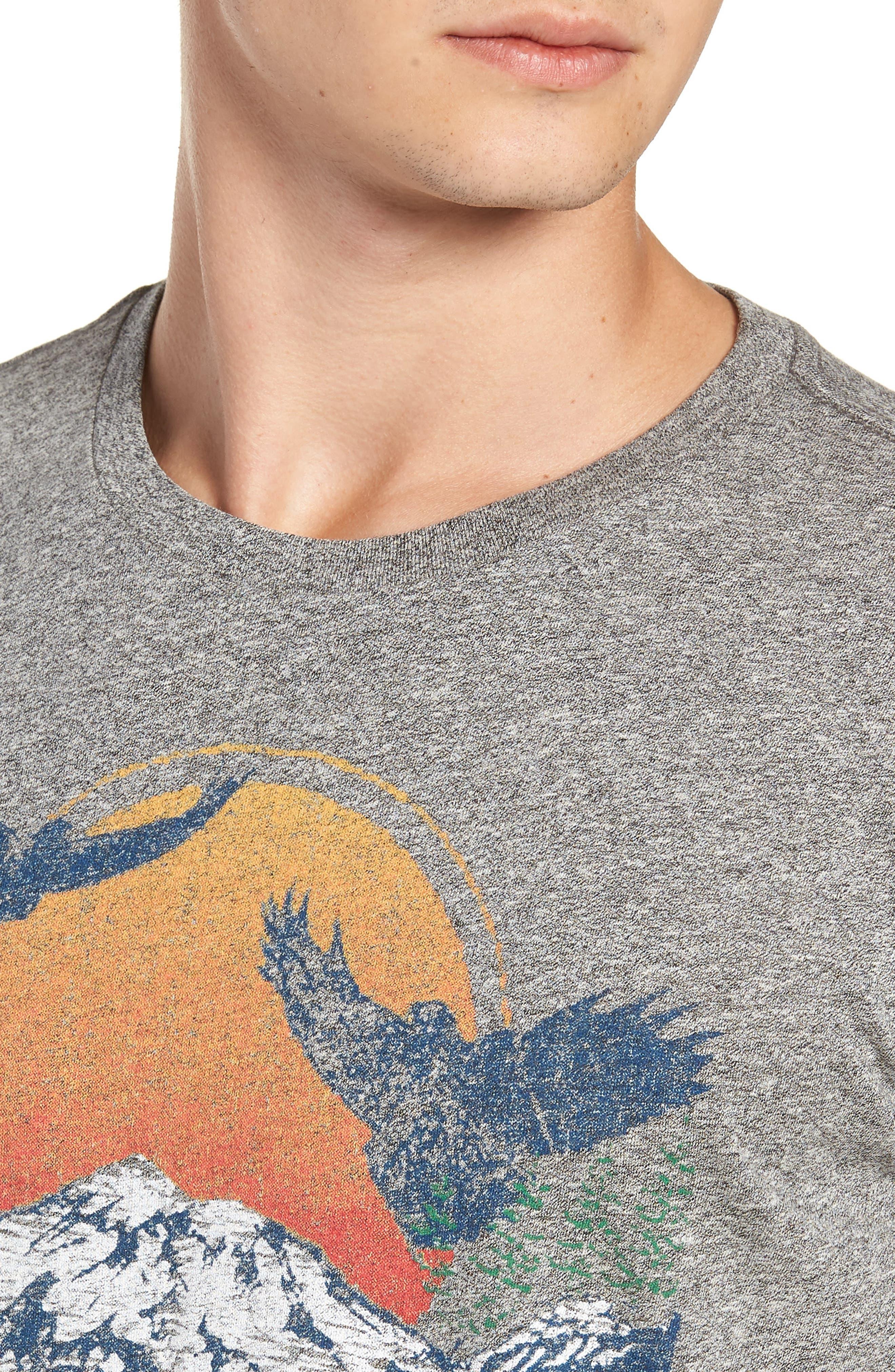 Lake Arrowhead Graphic T-Shirt,                             Alternate thumbnail 4, color,                             020