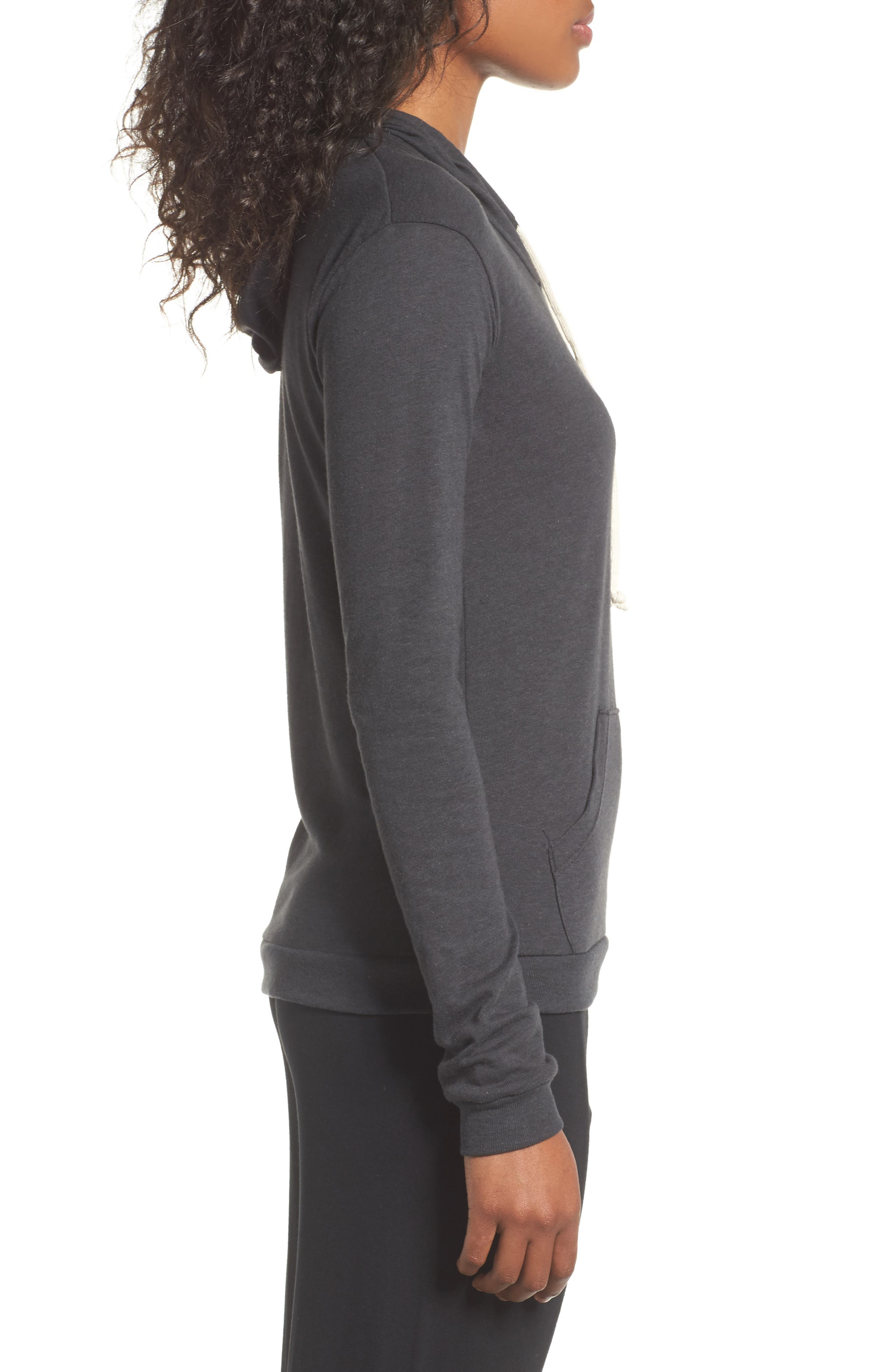 Classic Pullover Hoodie,                             Alternate thumbnail 3, color,                             001
