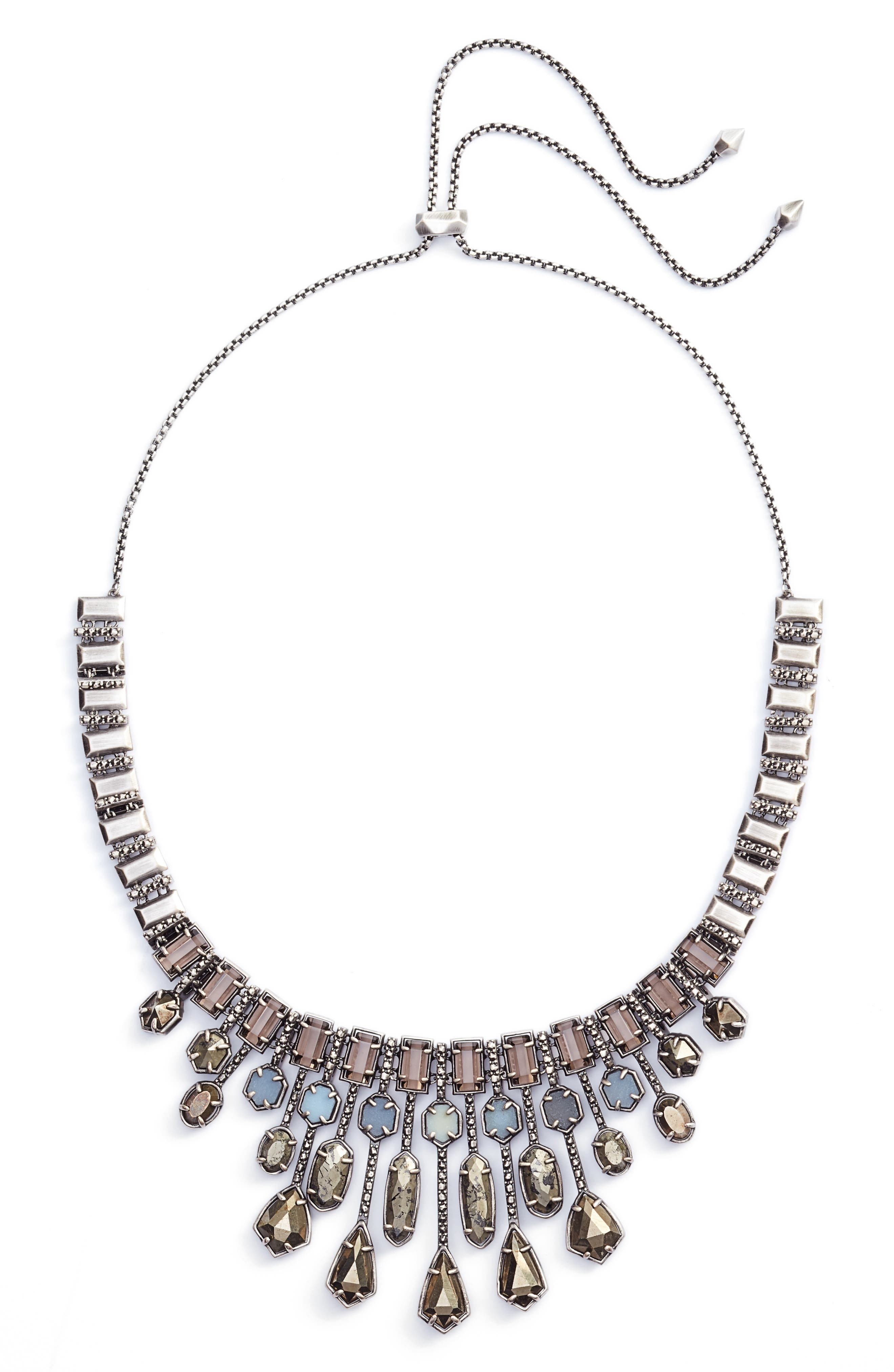Bette Bib Necklace,                         Main,                         color, 040