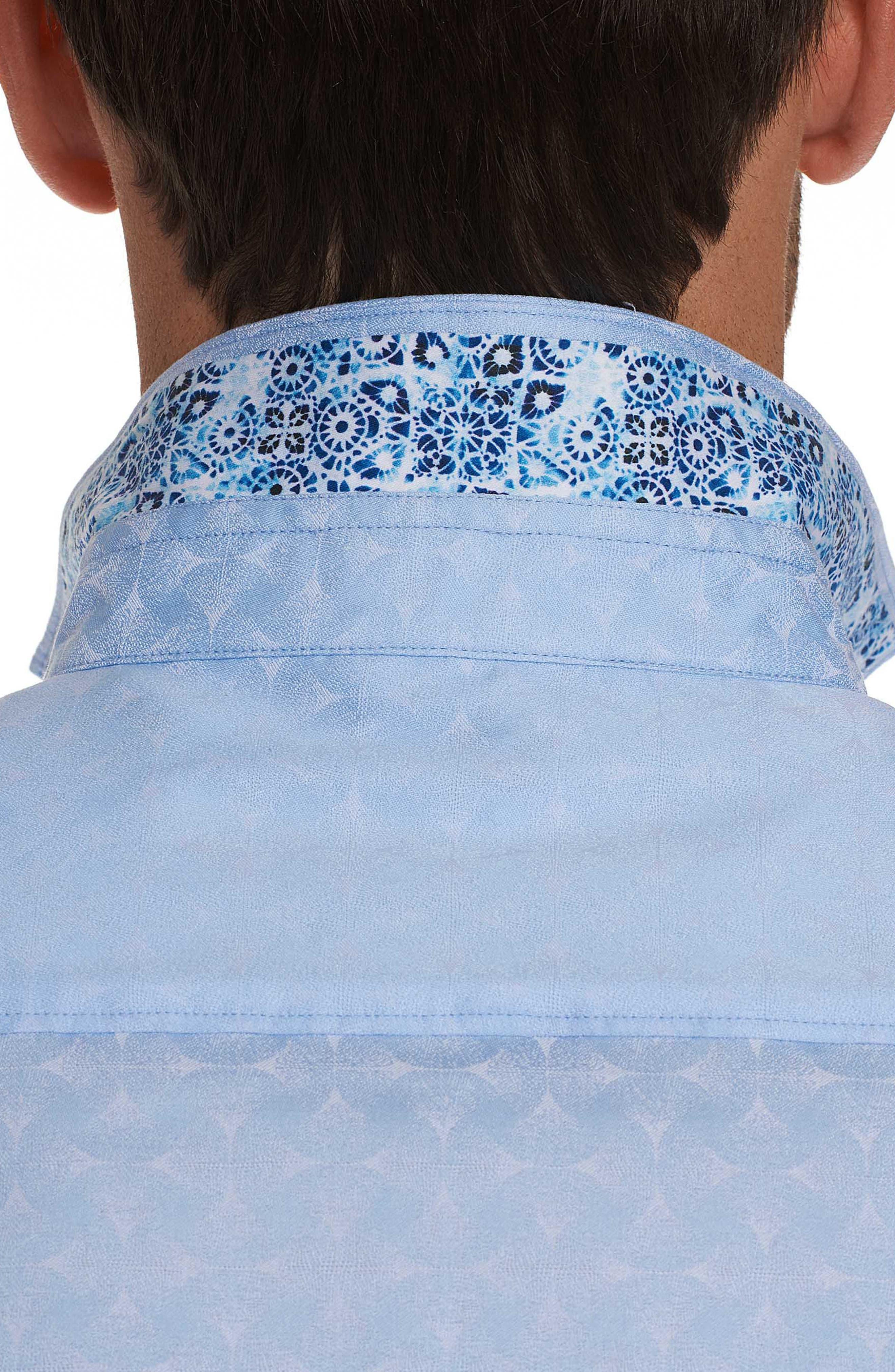 Diamante Classic Fit Sport Shirt,                             Alternate thumbnail 4, color,                             450