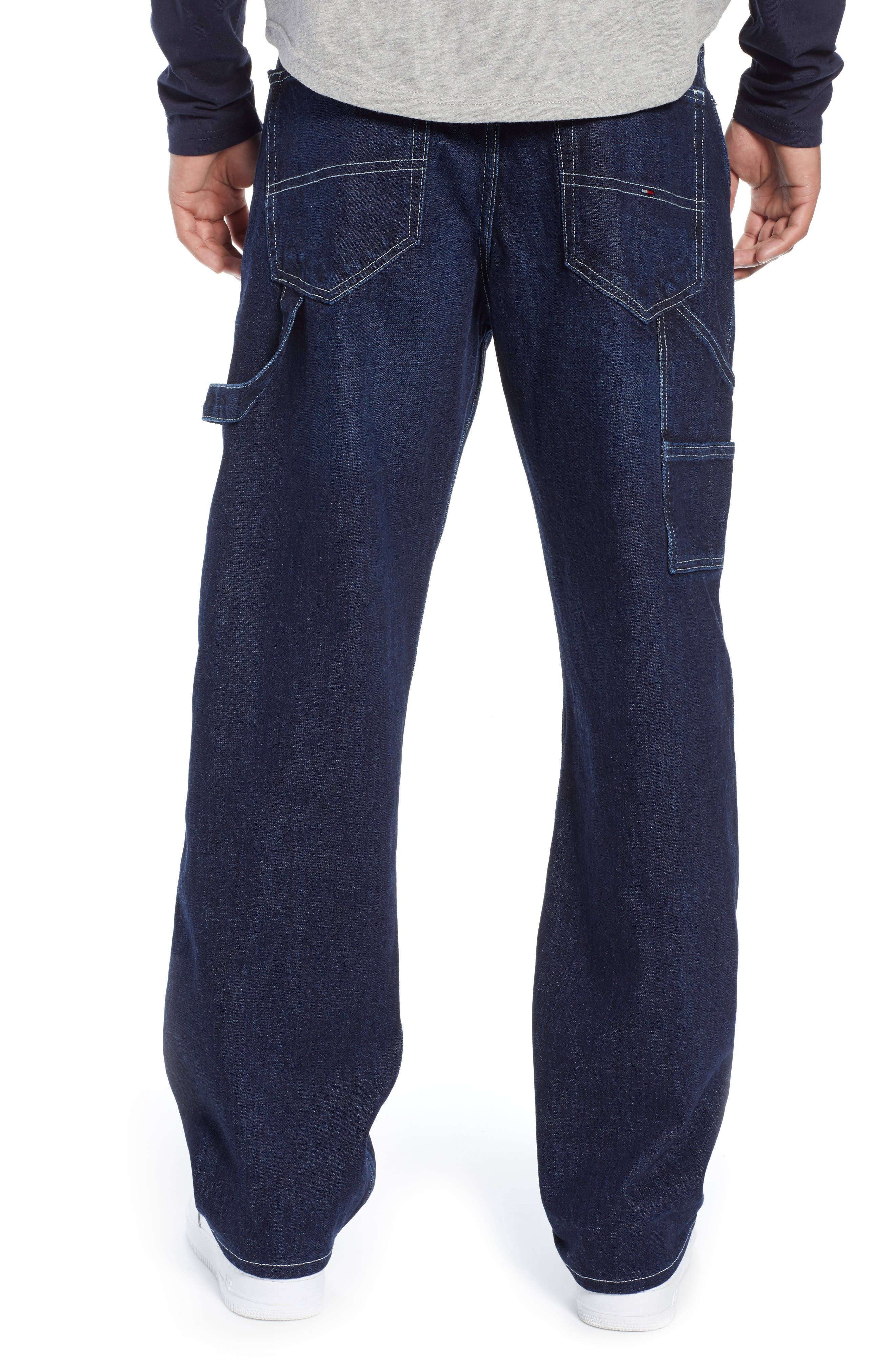 TJM 1986 Relaxed Carpenter Pants,                             Alternate thumbnail 2, color,                             CONTRAST DARK RIG