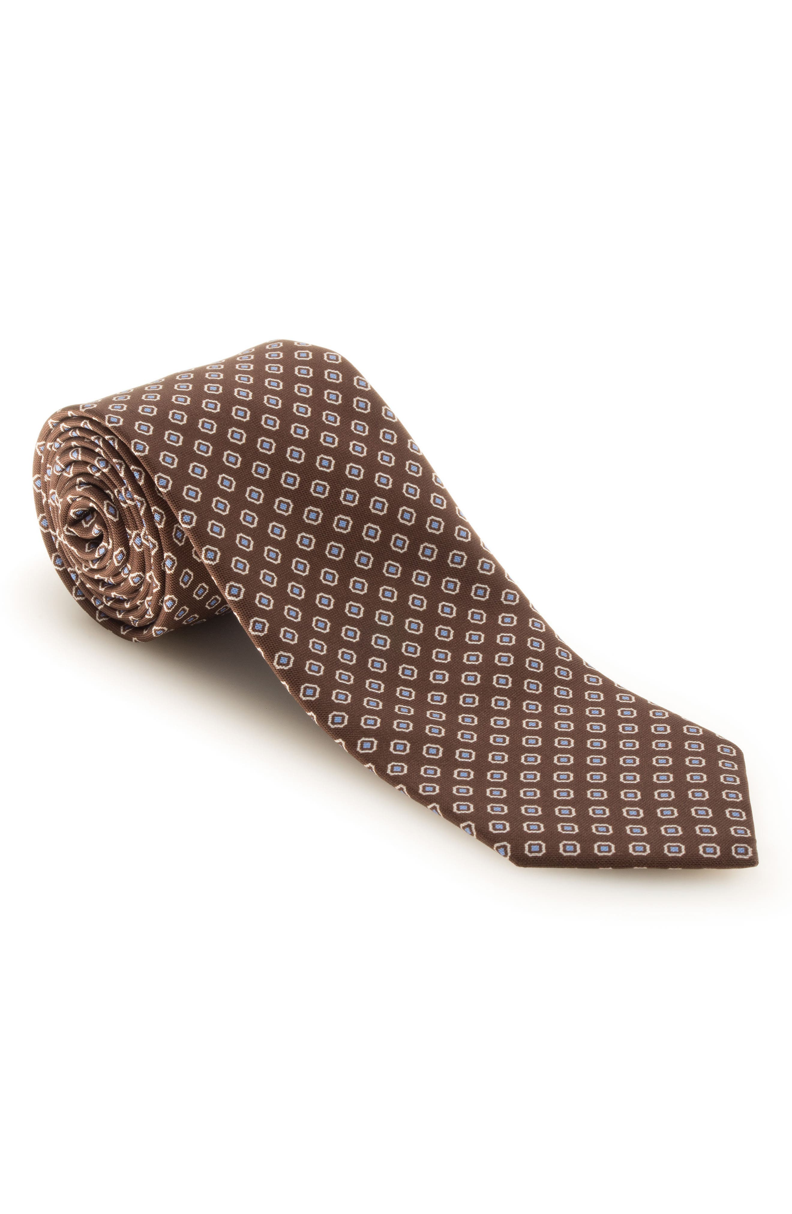 Medallion Silk Tie,                             Main thumbnail 1, color,                             200