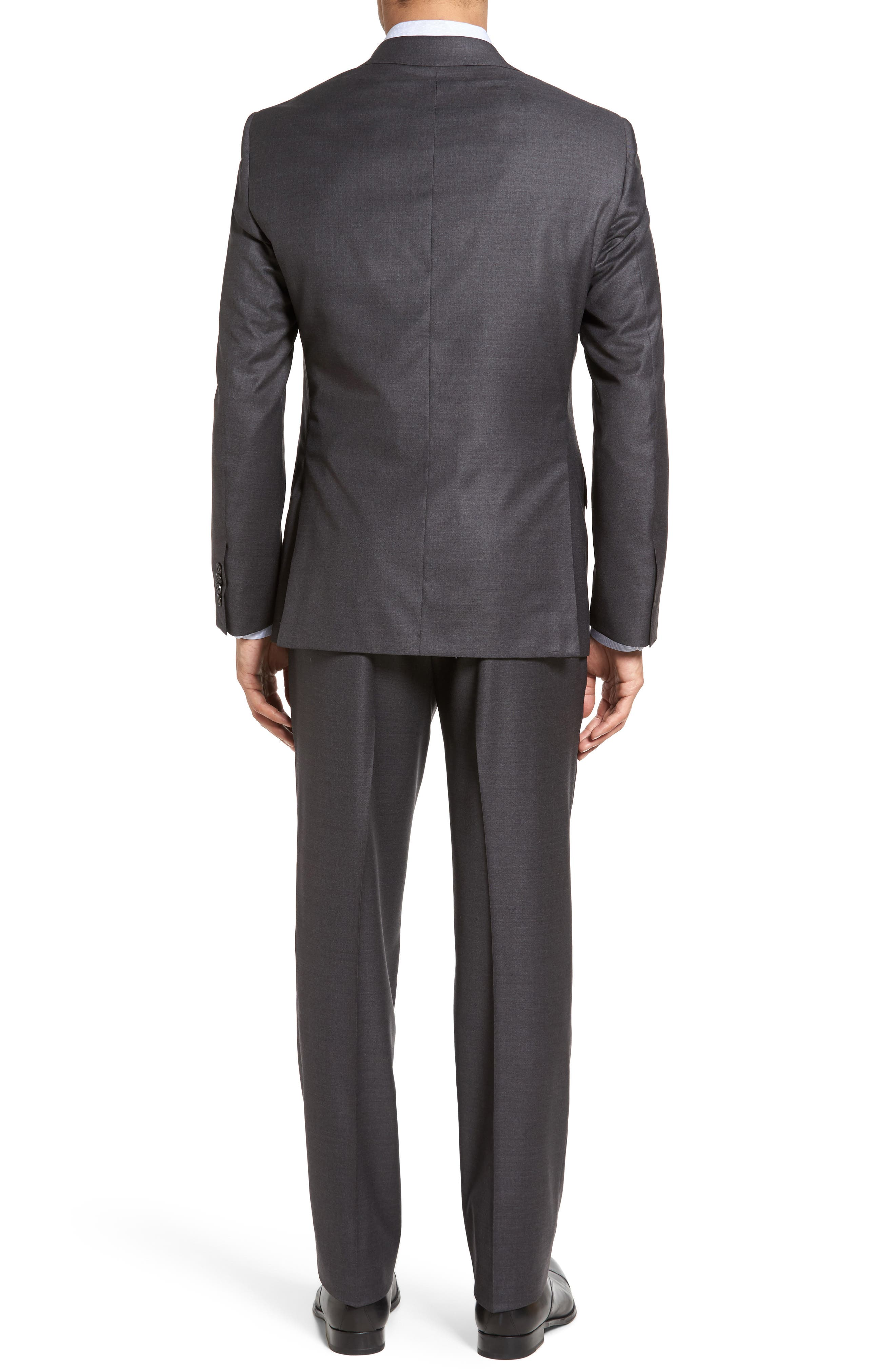 Beckett Classic Fit Solid Wool Suit,                             Alternate thumbnail 2, color,
