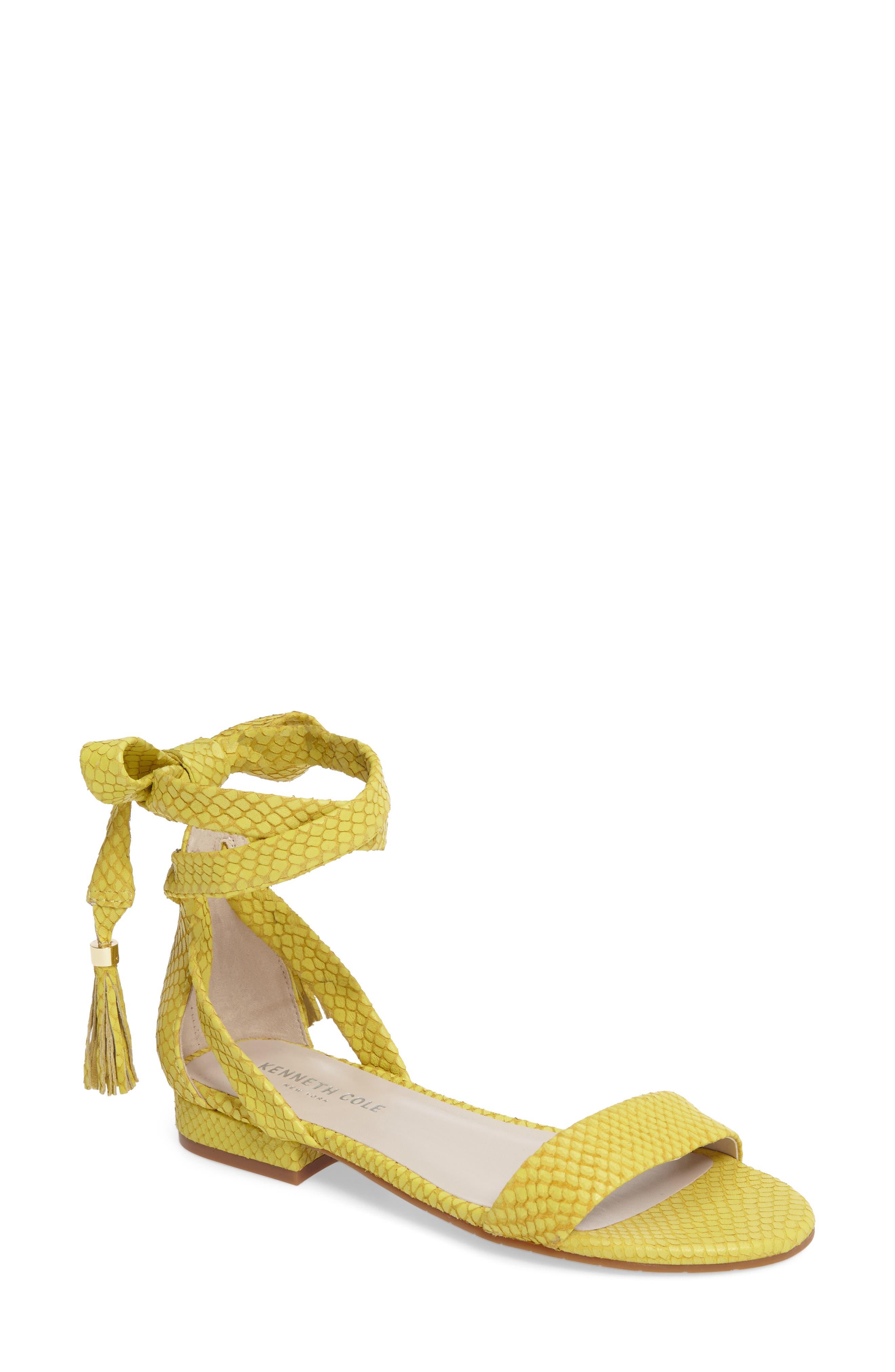 Valen Tassel Lace-Up Sandal,                             Main thumbnail 14, color,