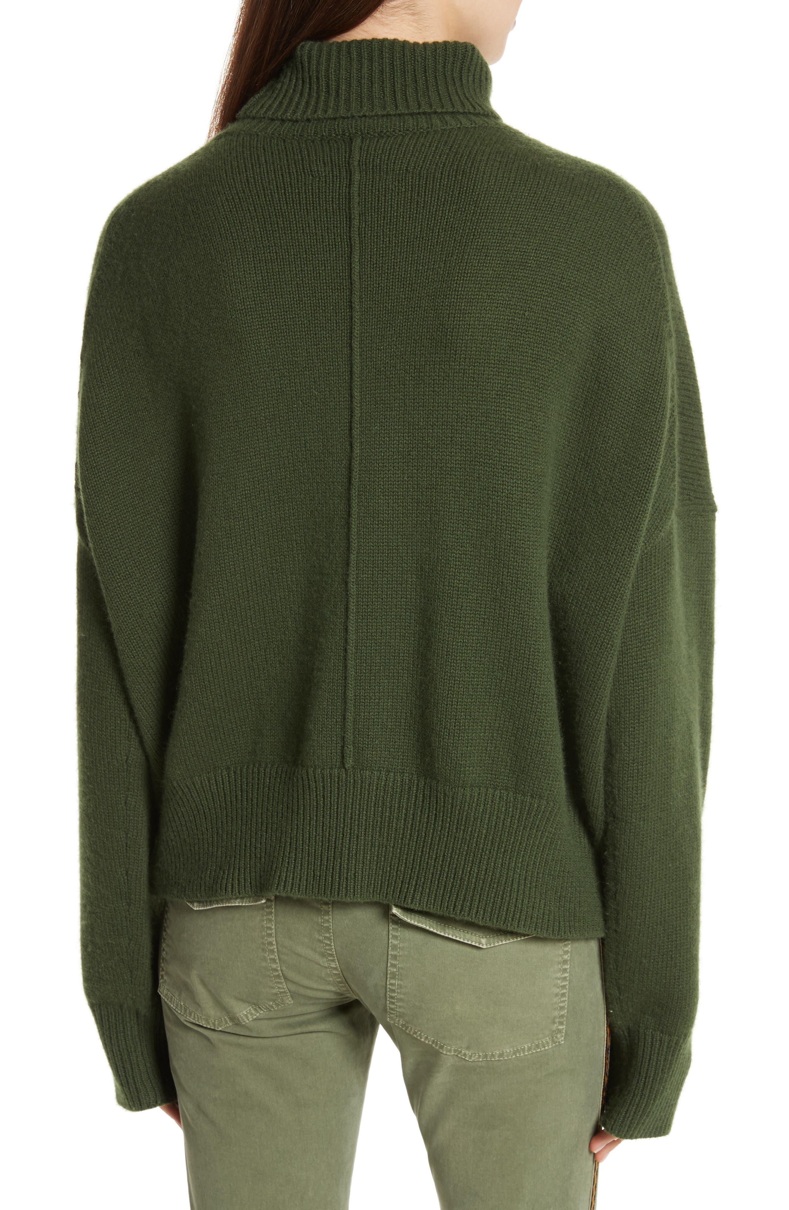 Serinda Wool & Cashmere Turtleneck Sweater,                             Alternate thumbnail 2, color,                             303