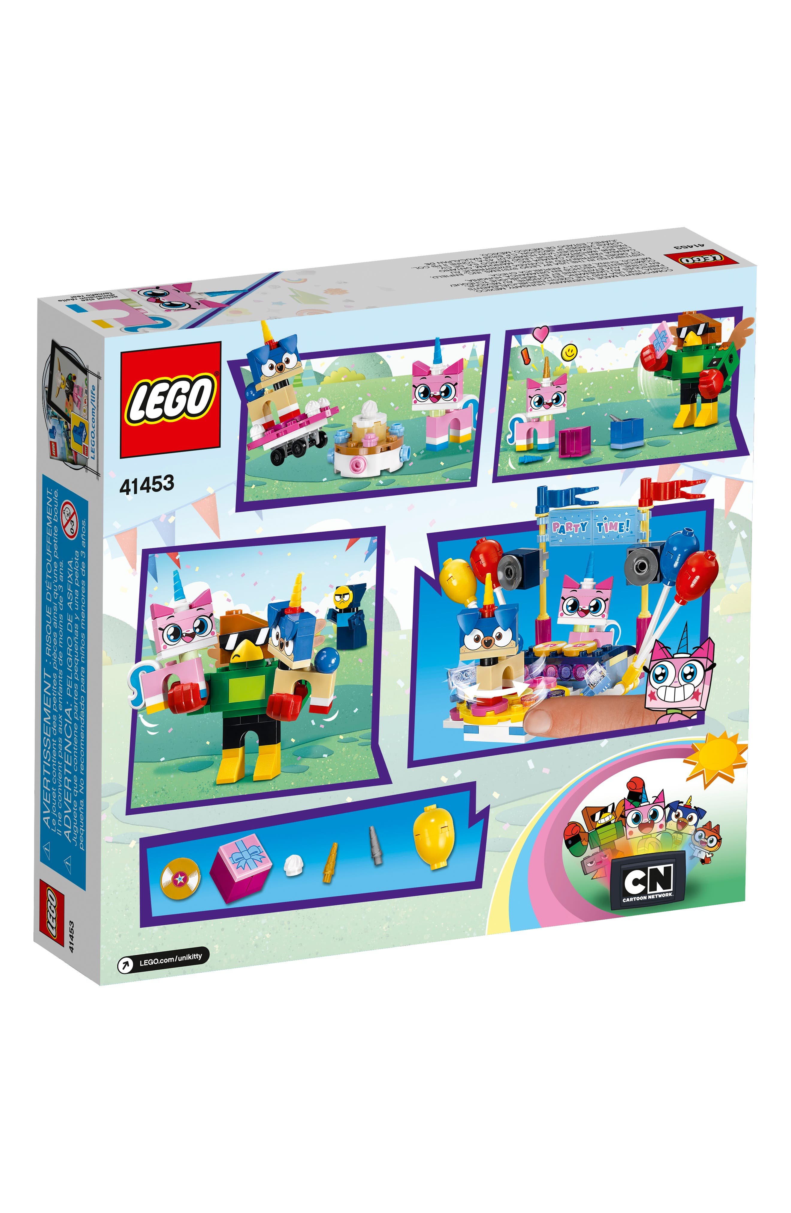 Unikitty<sup>™</sup> Party Time - 41453,                             Alternate thumbnail 2, color,                             960