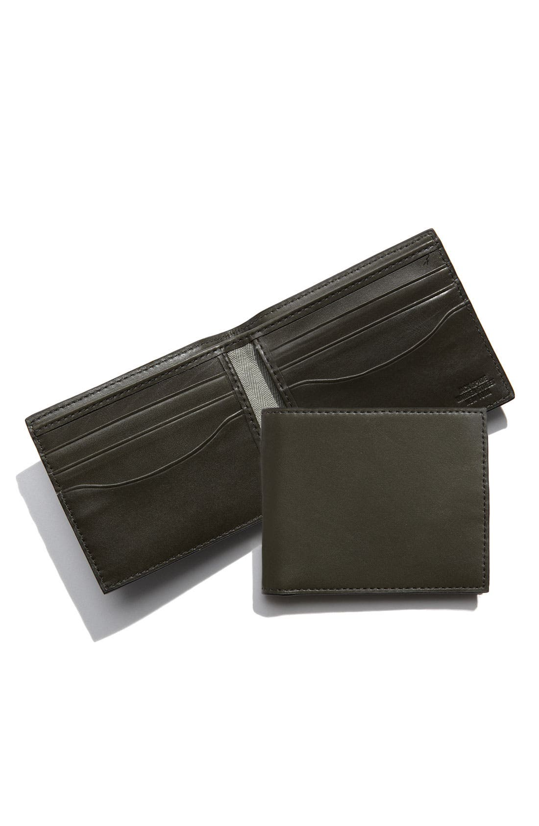 Leather Billfold,                             Main thumbnail 2, color,