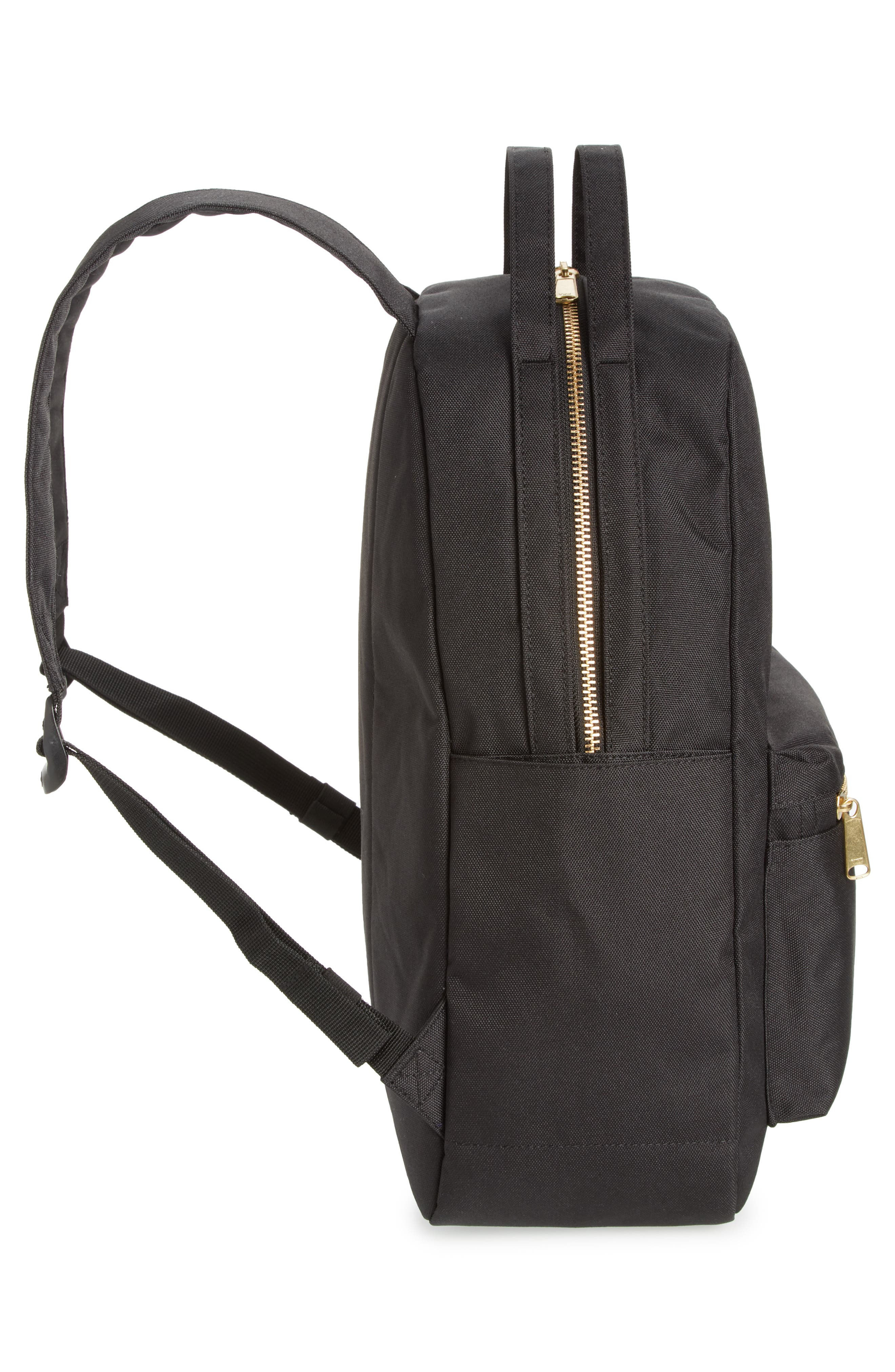 HERSCHEL SUPPLY CO.,                             Nova Mid Volume Backpack,                             Alternate thumbnail 5, color,                             BLACK