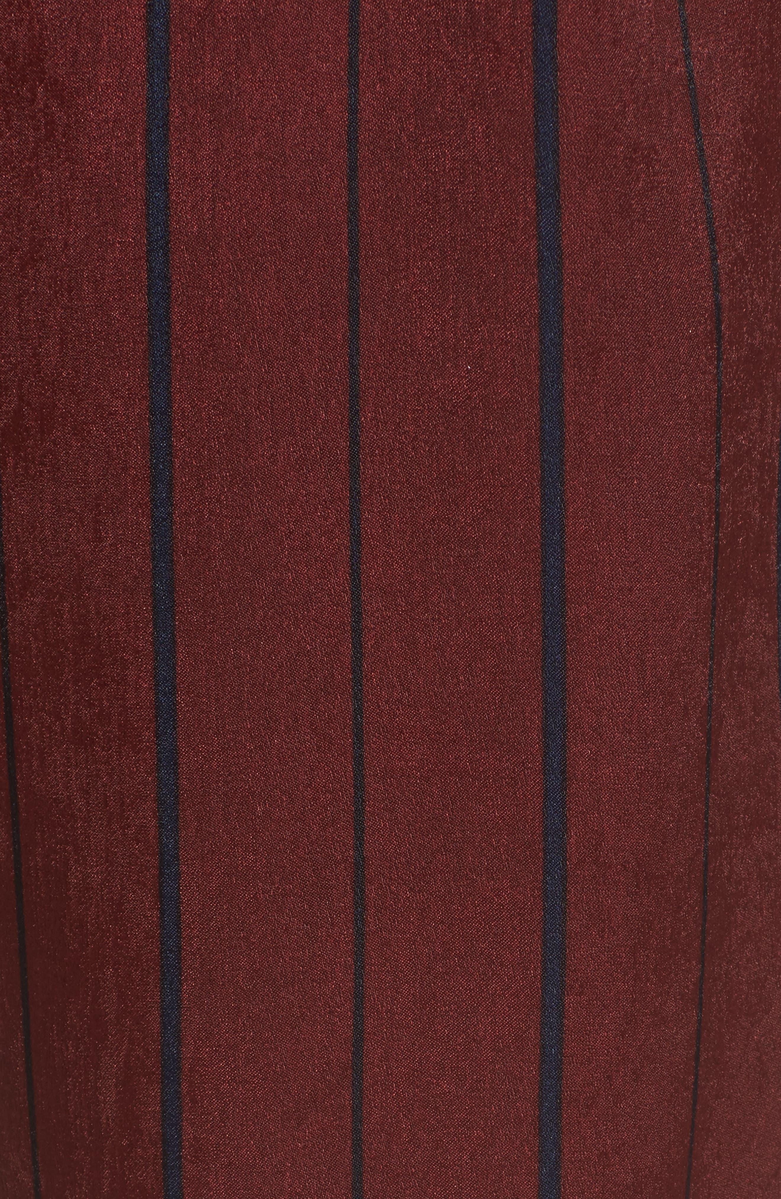 Stripe Crop Pants,                             Alternate thumbnail 5, color,                             930