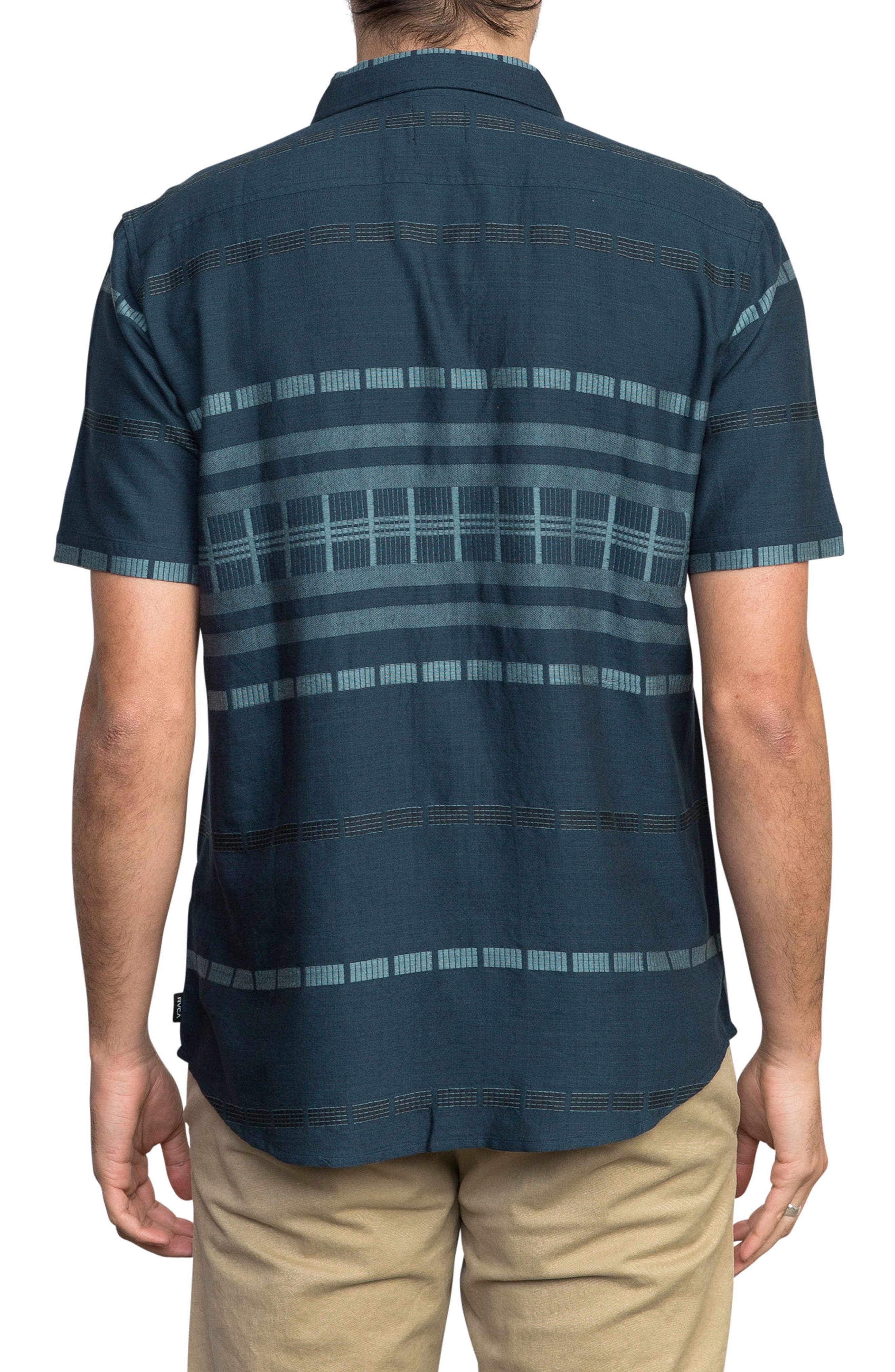 Krazy Kat Woven Shirt,                             Alternate thumbnail 2, color,                             CLASSIC INDIGO