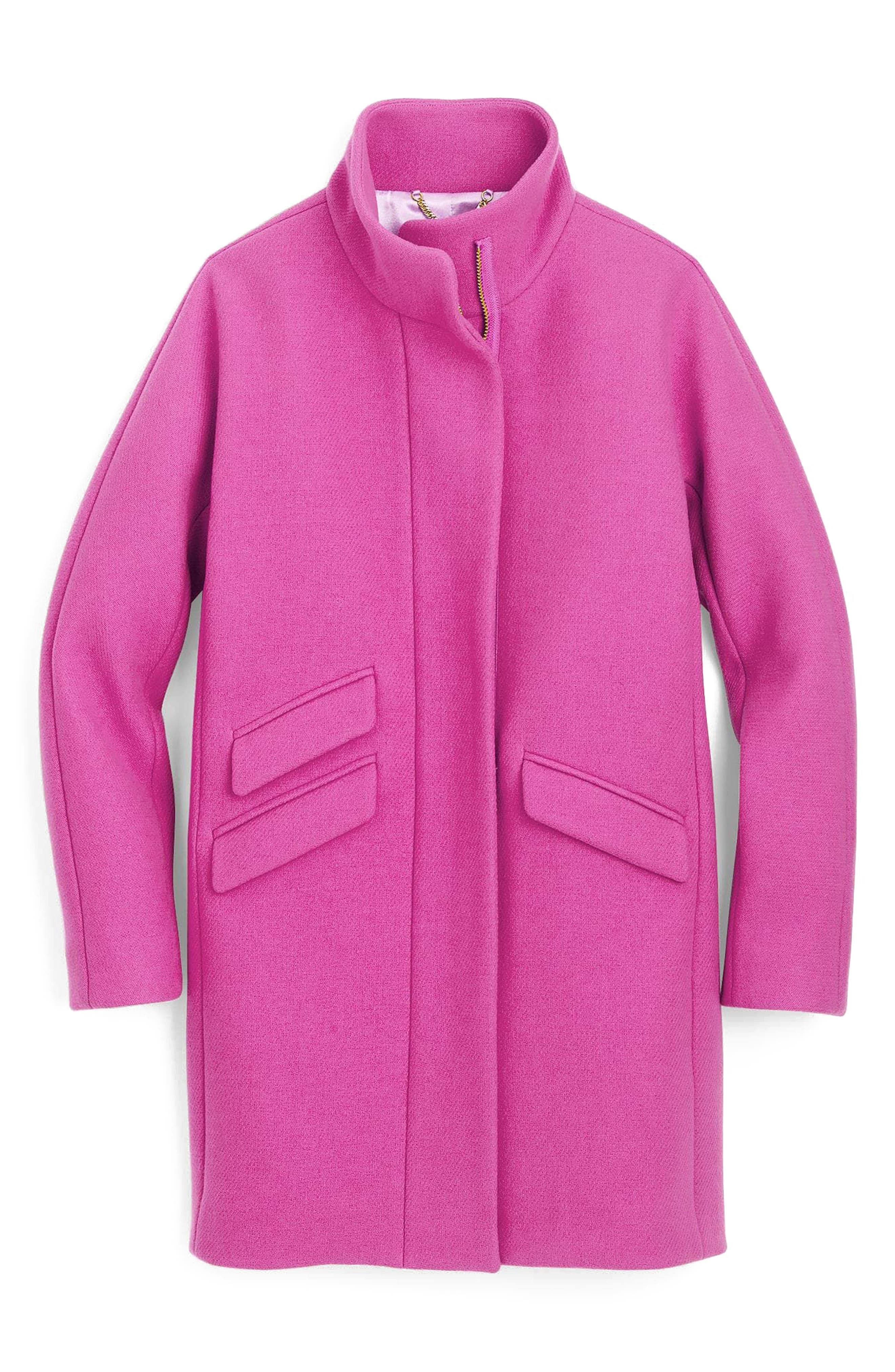 Stadium Cloth Cocoon Coat,                             Main thumbnail 10, color,