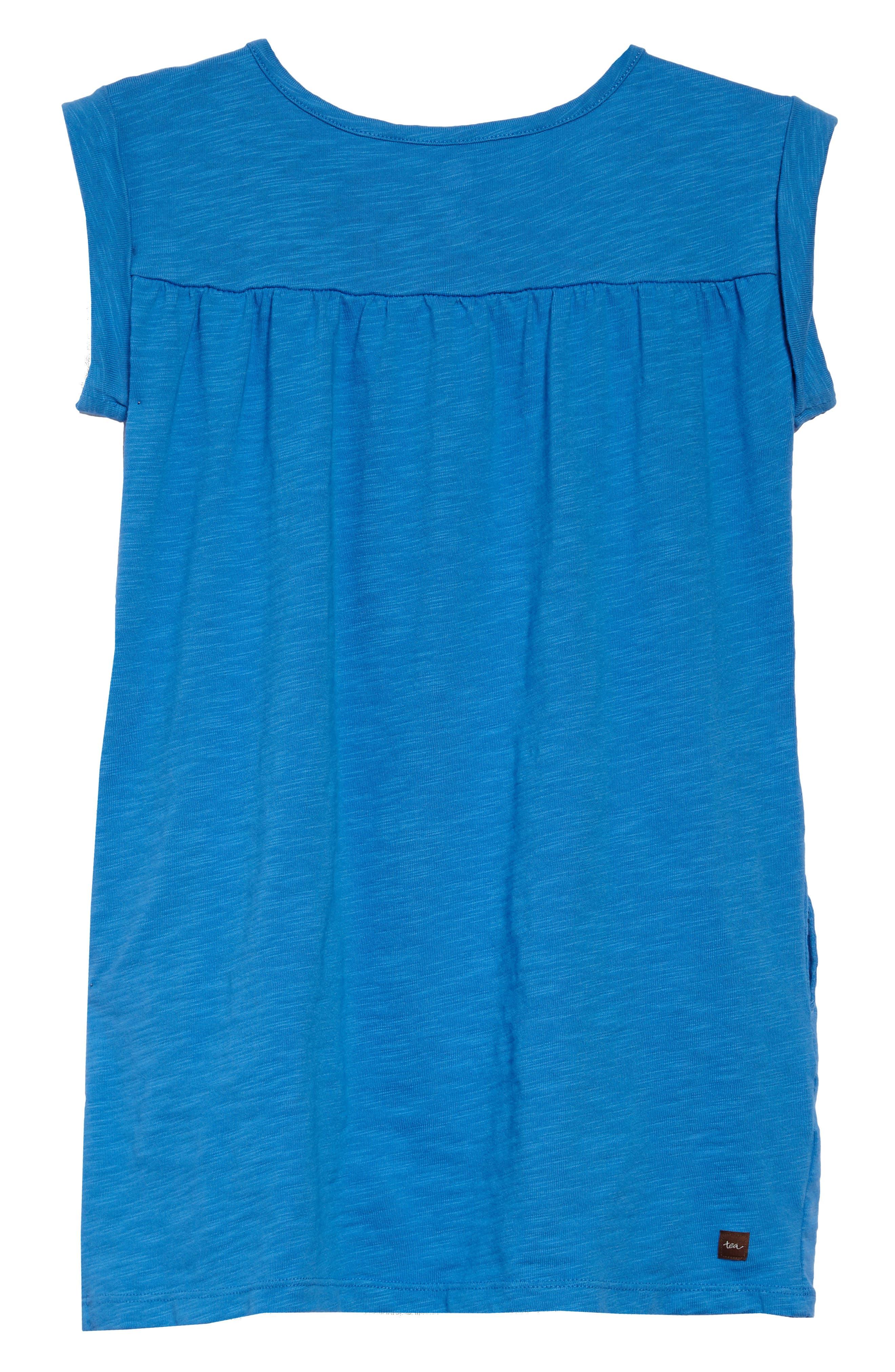 Placket Trim Dress,                             Alternate thumbnail 2, color,                             467