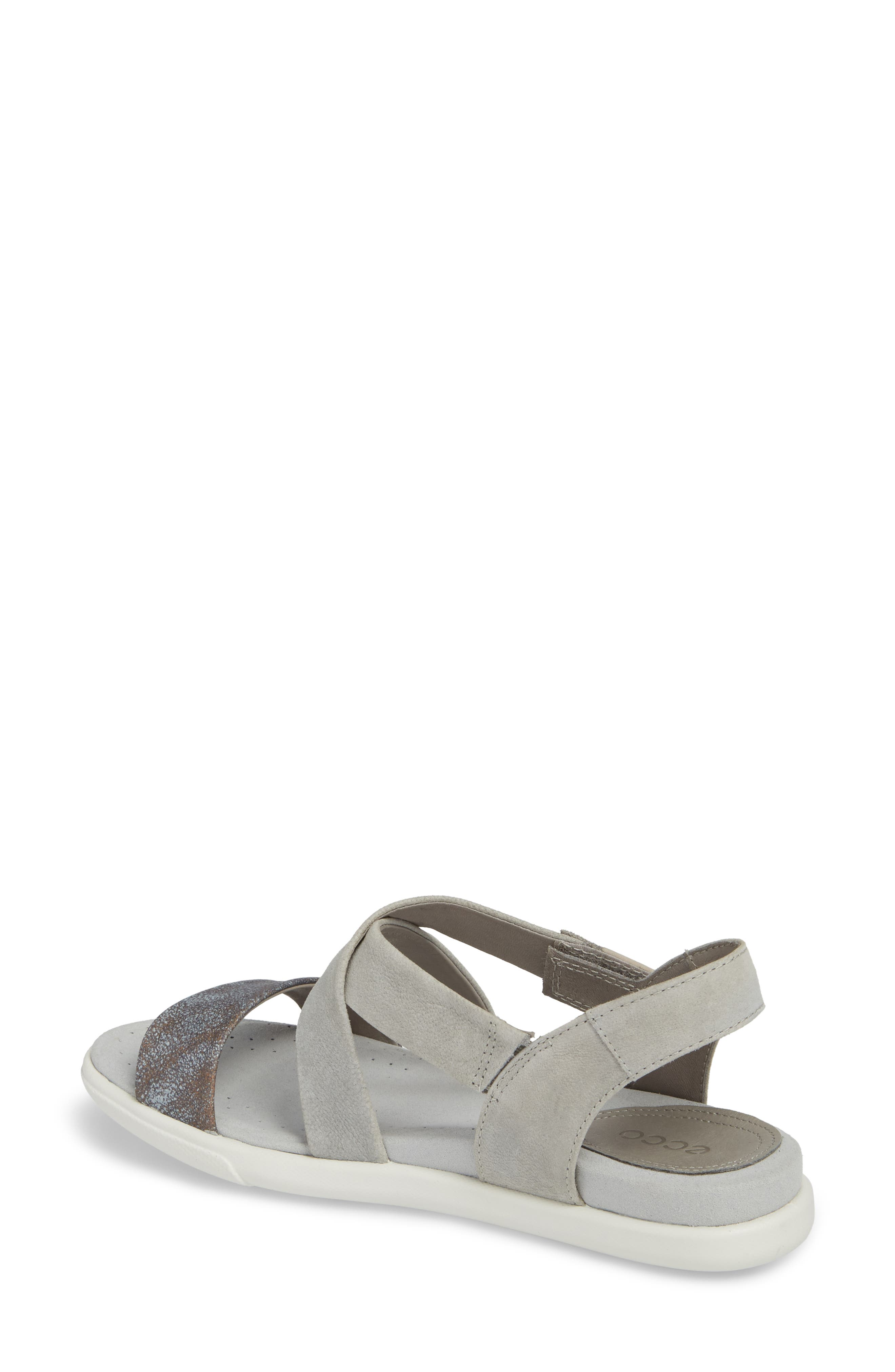 Damara Cross-Strap Sandal,                             Alternate thumbnail 9, color,