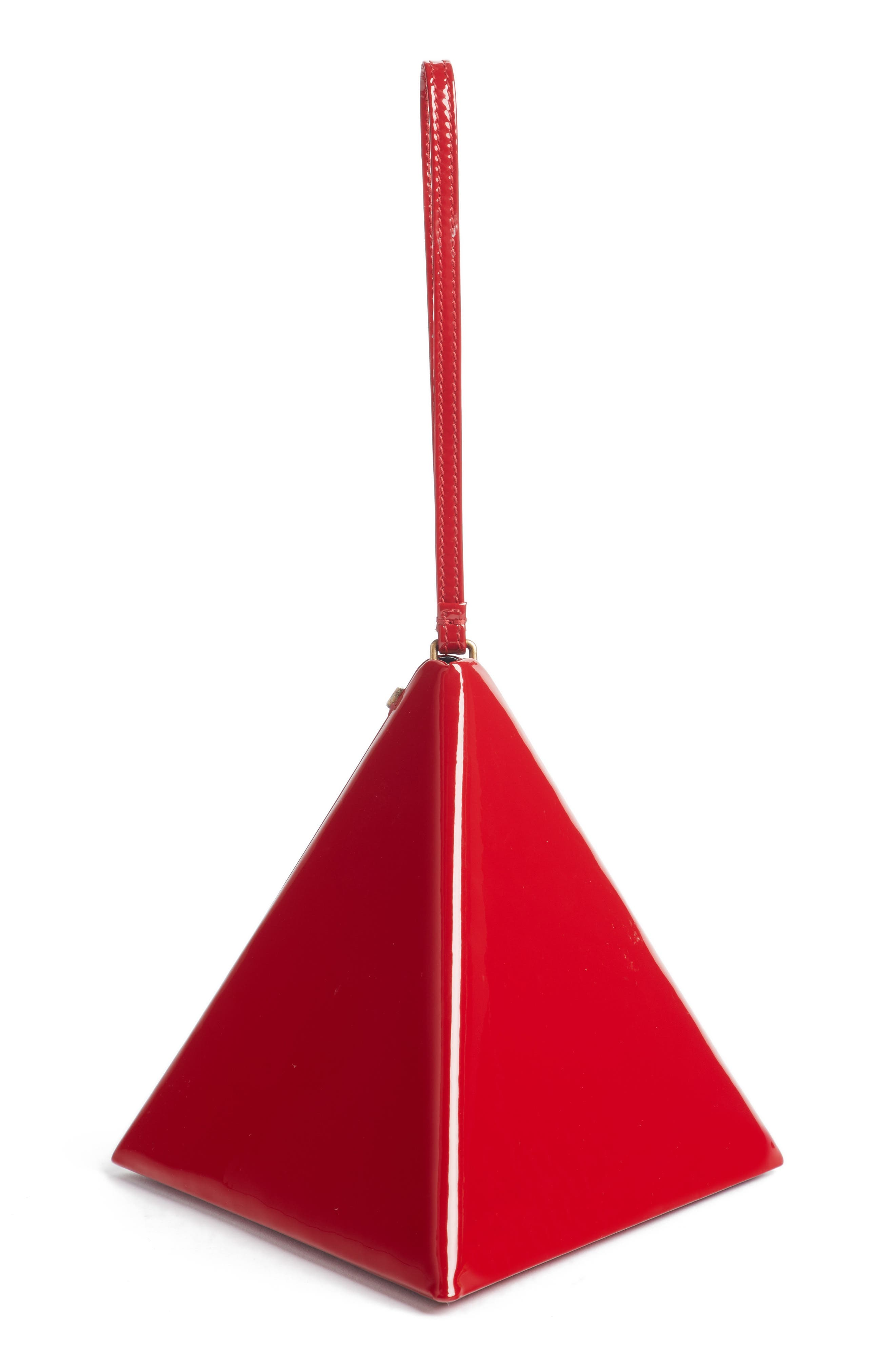 Pyramid Patent Minaudière,                             Alternate thumbnail 3, color,                             612