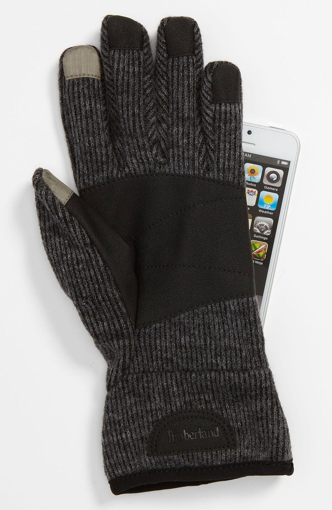 Knit Touch Screen Gloves,                             Alternate thumbnail 3, color,                             022