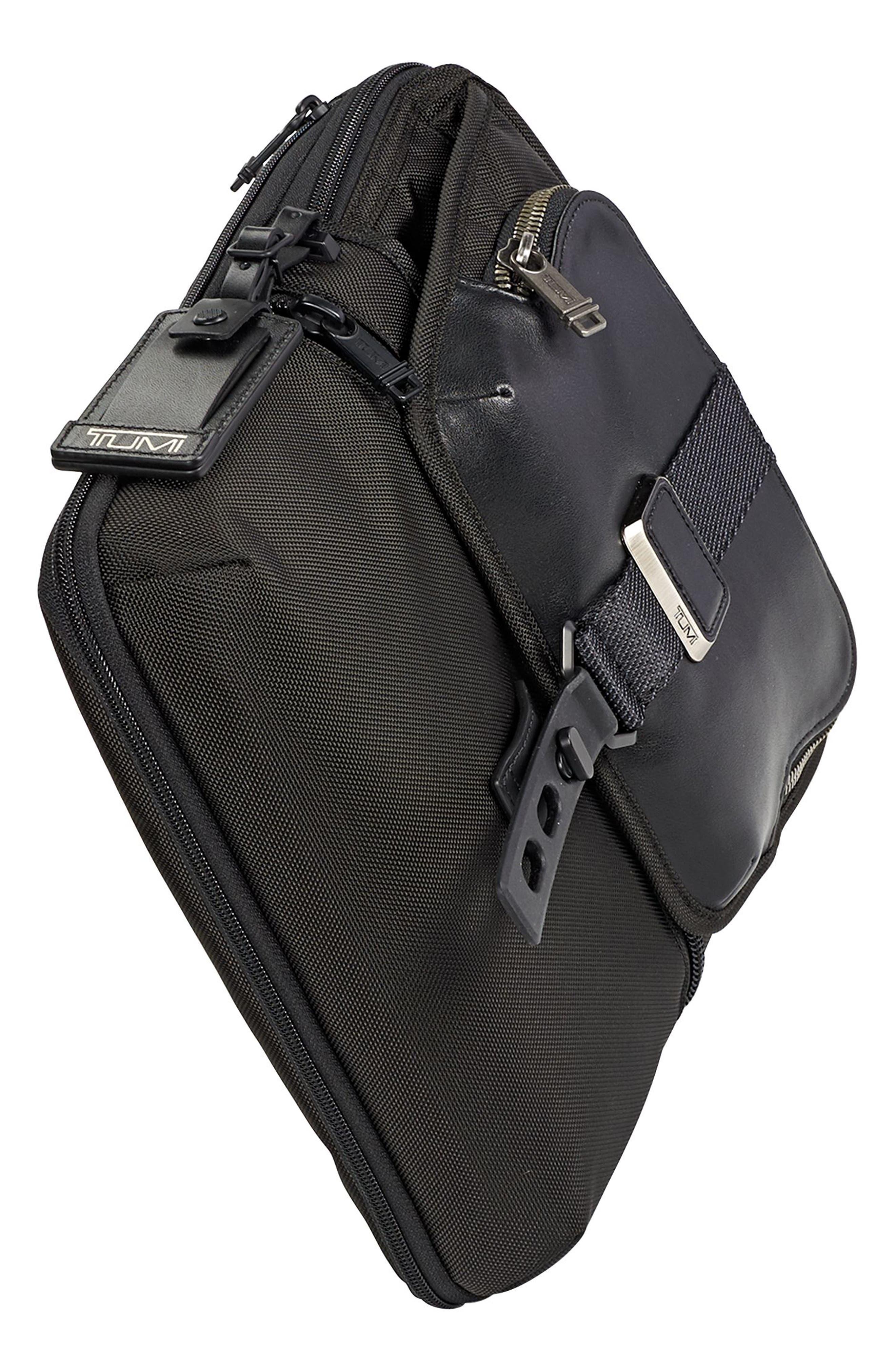Alpha Bravo - Arnold Messenger Bag,                             Alternate thumbnail 5, color,                             001