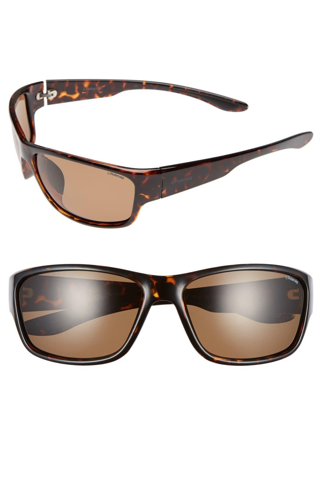 Polaroid 3015/S 63mm Polarized Sunglasses,                             Main thumbnail 1, color,                             210