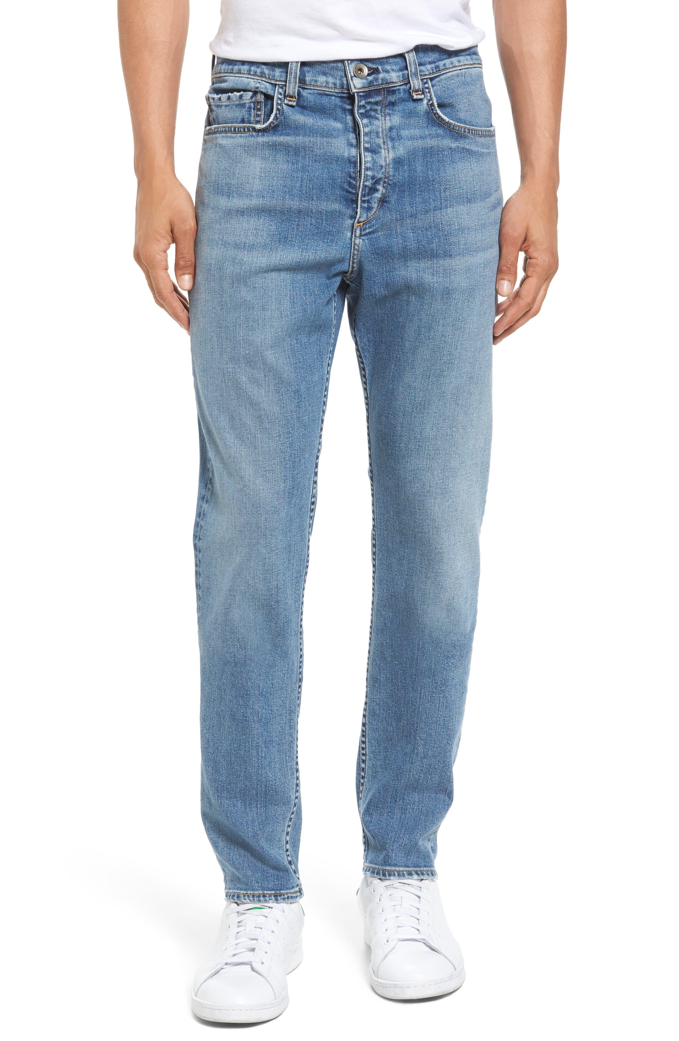 Fit 2 Slim Fit Jeans,                         Main,                         color, DARK KINGSTON