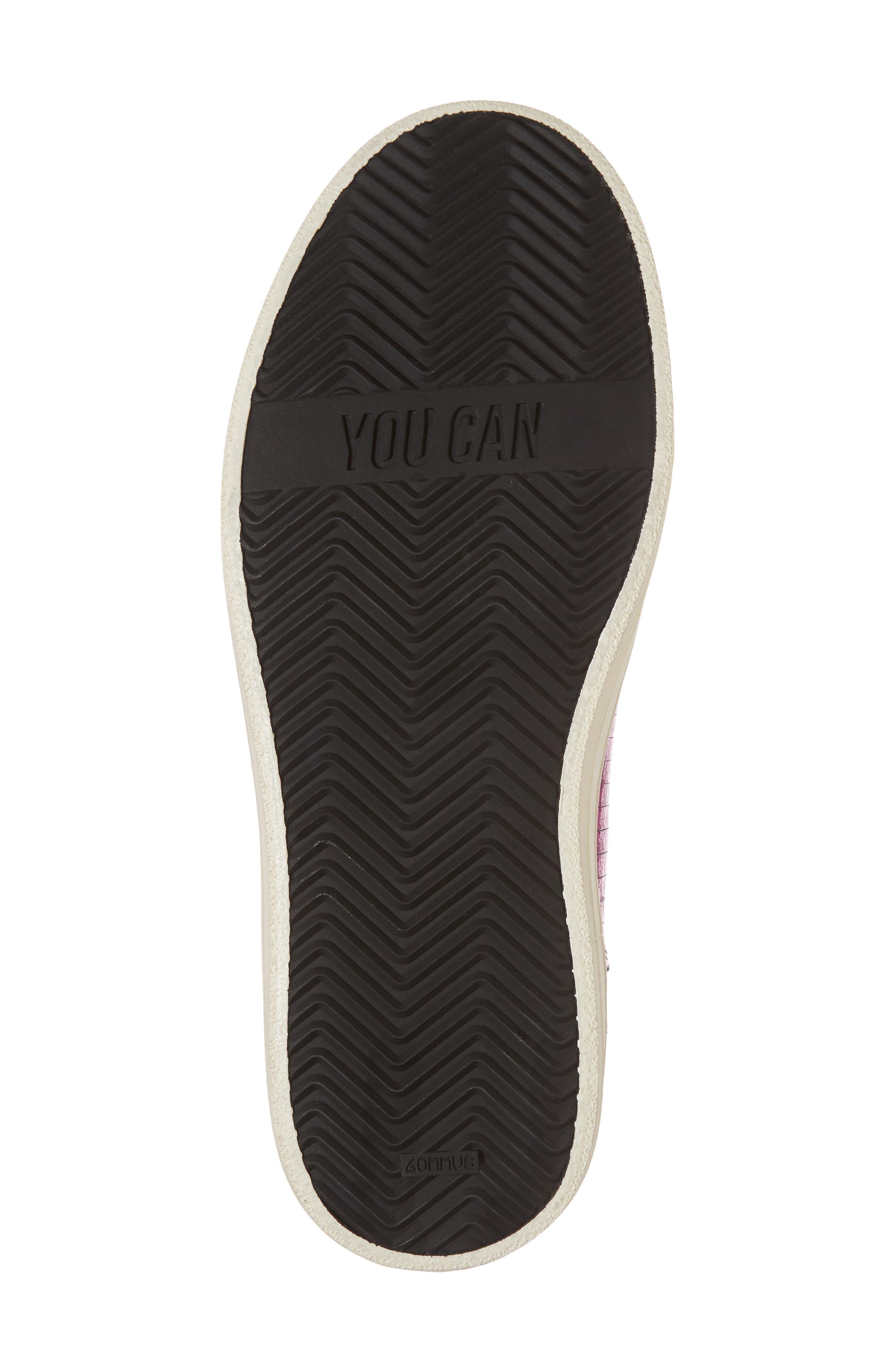 Skate Sequin High Top Sneaker,                             Alternate thumbnail 6, color,
