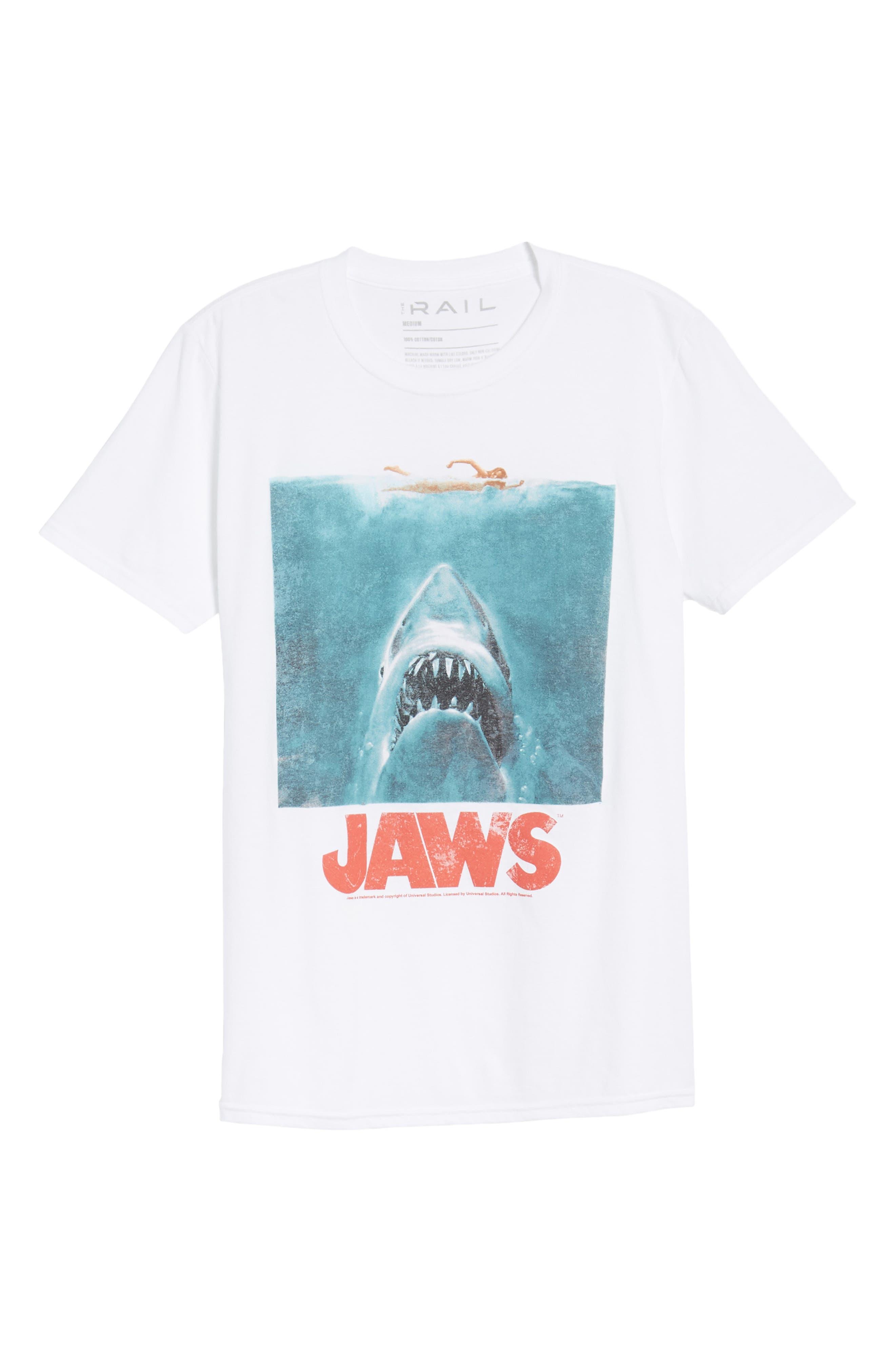 Jaws T-Shirt,                             Alternate thumbnail 6, color,