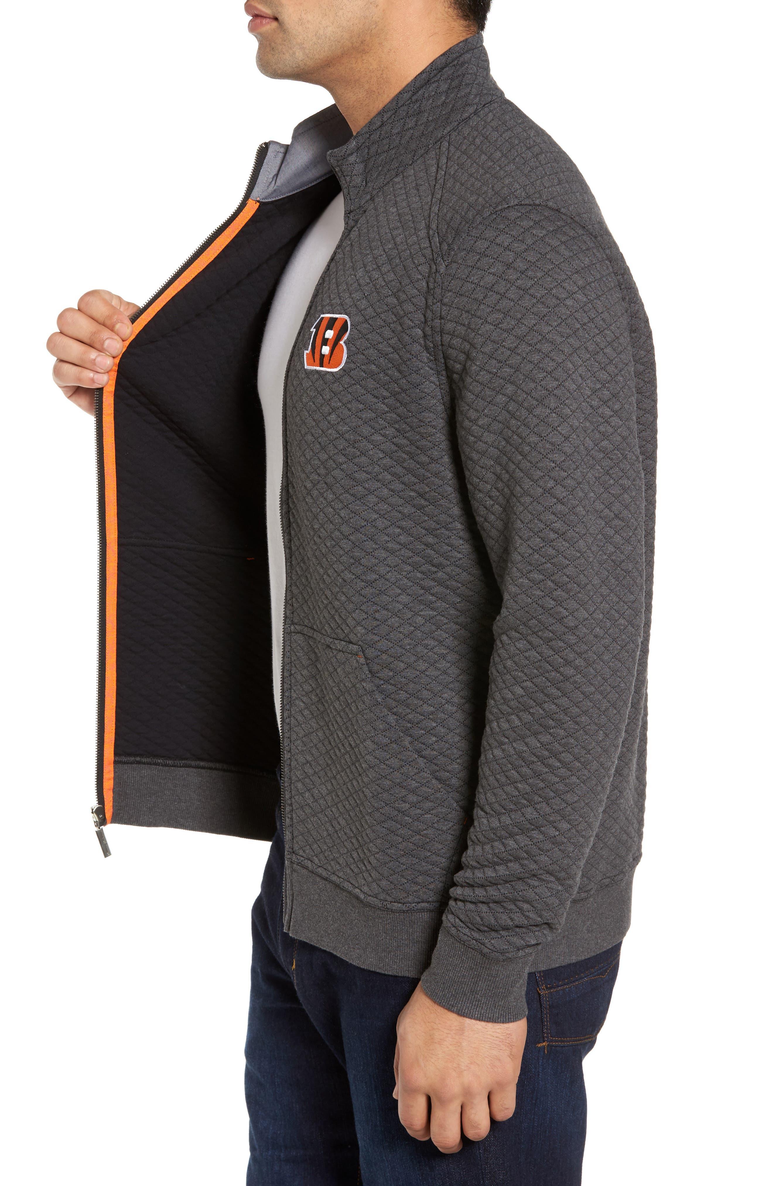 NFL Quiltessential Full Zip Sweatshirt,                             Alternate thumbnail 66, color,