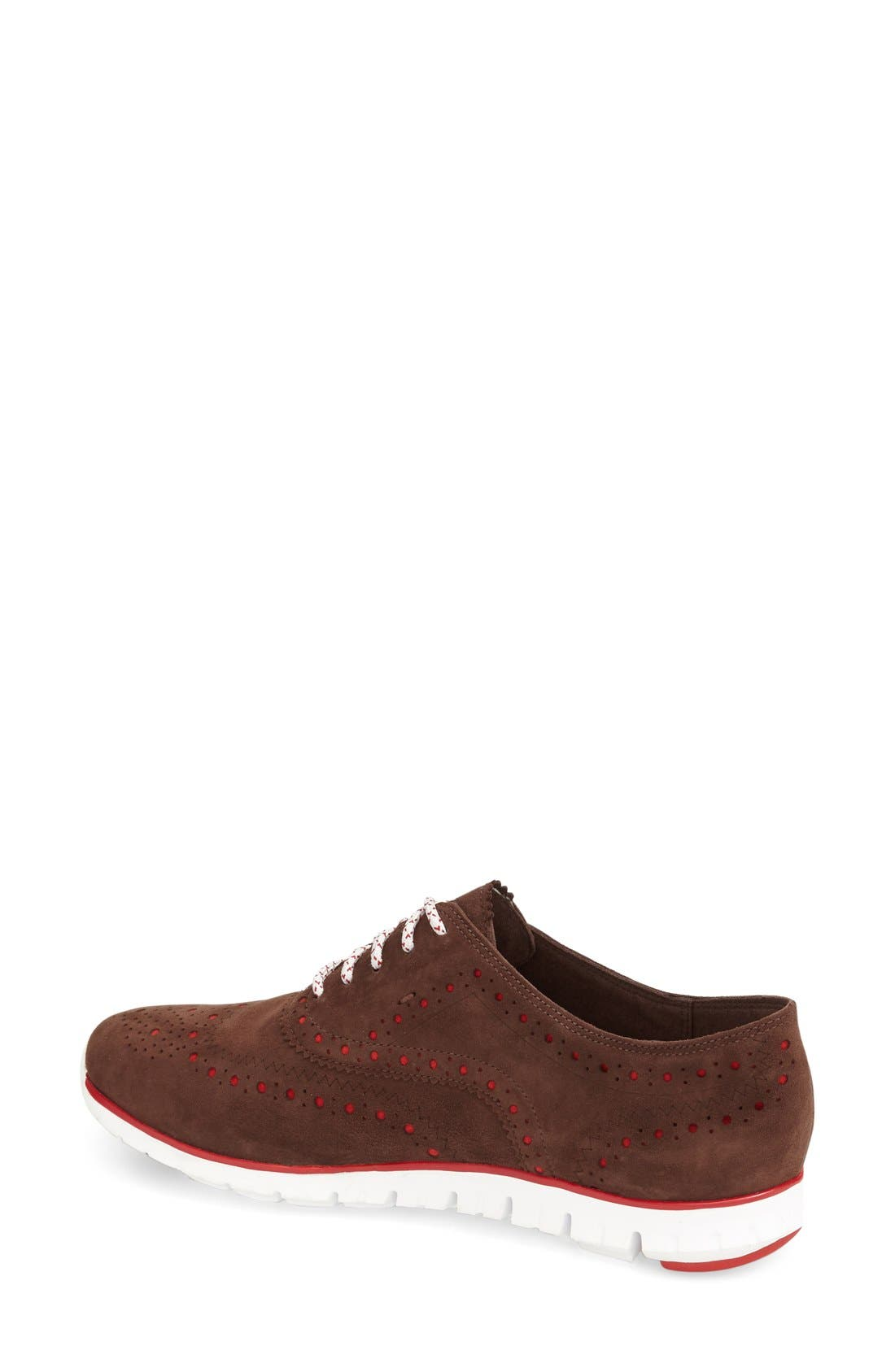 'ZeroGrand' Perforated Wingtip,                             Alternate thumbnail 45, color,